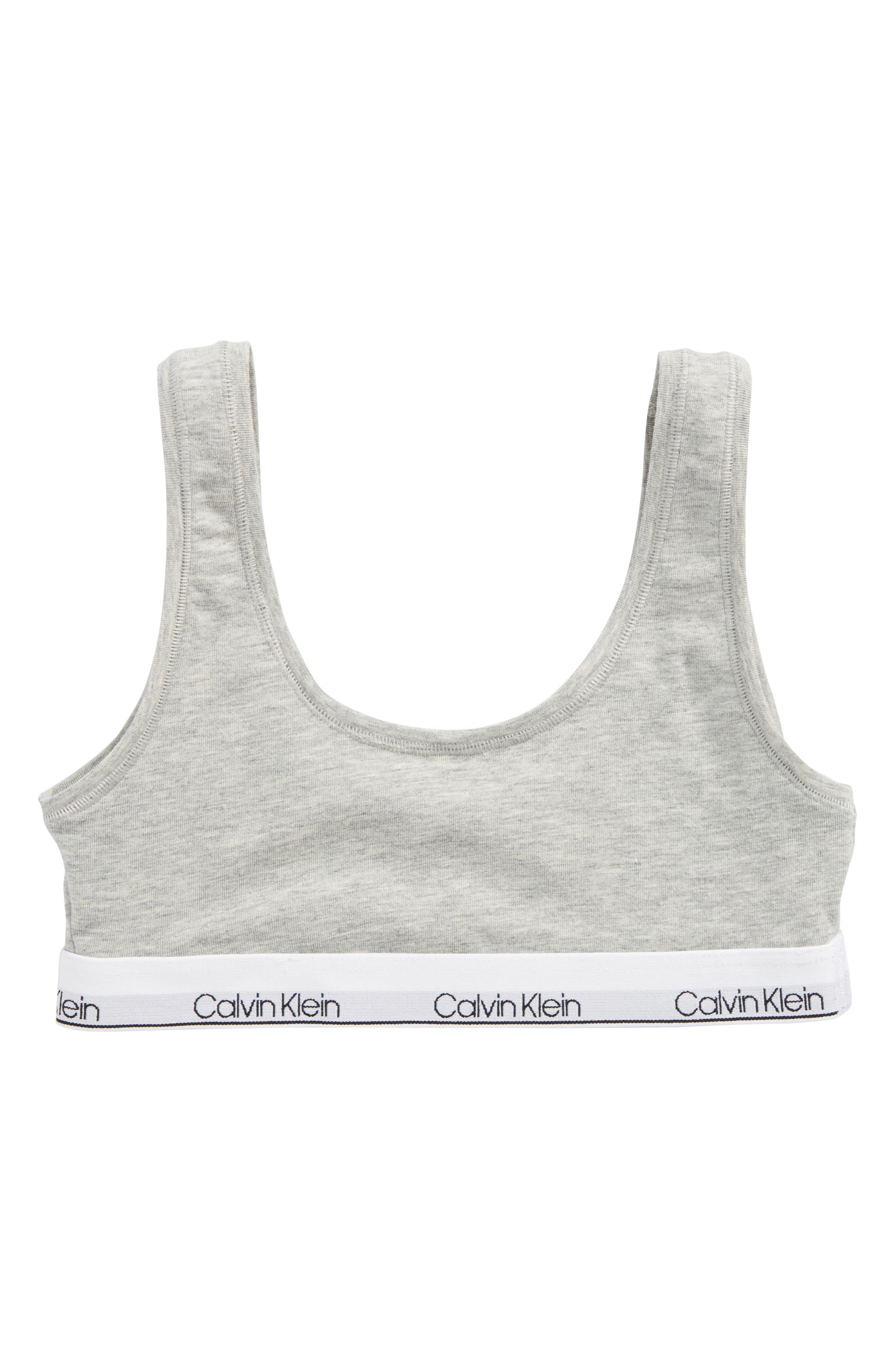 Calvin Klein Logo Bralette (Big Girls)