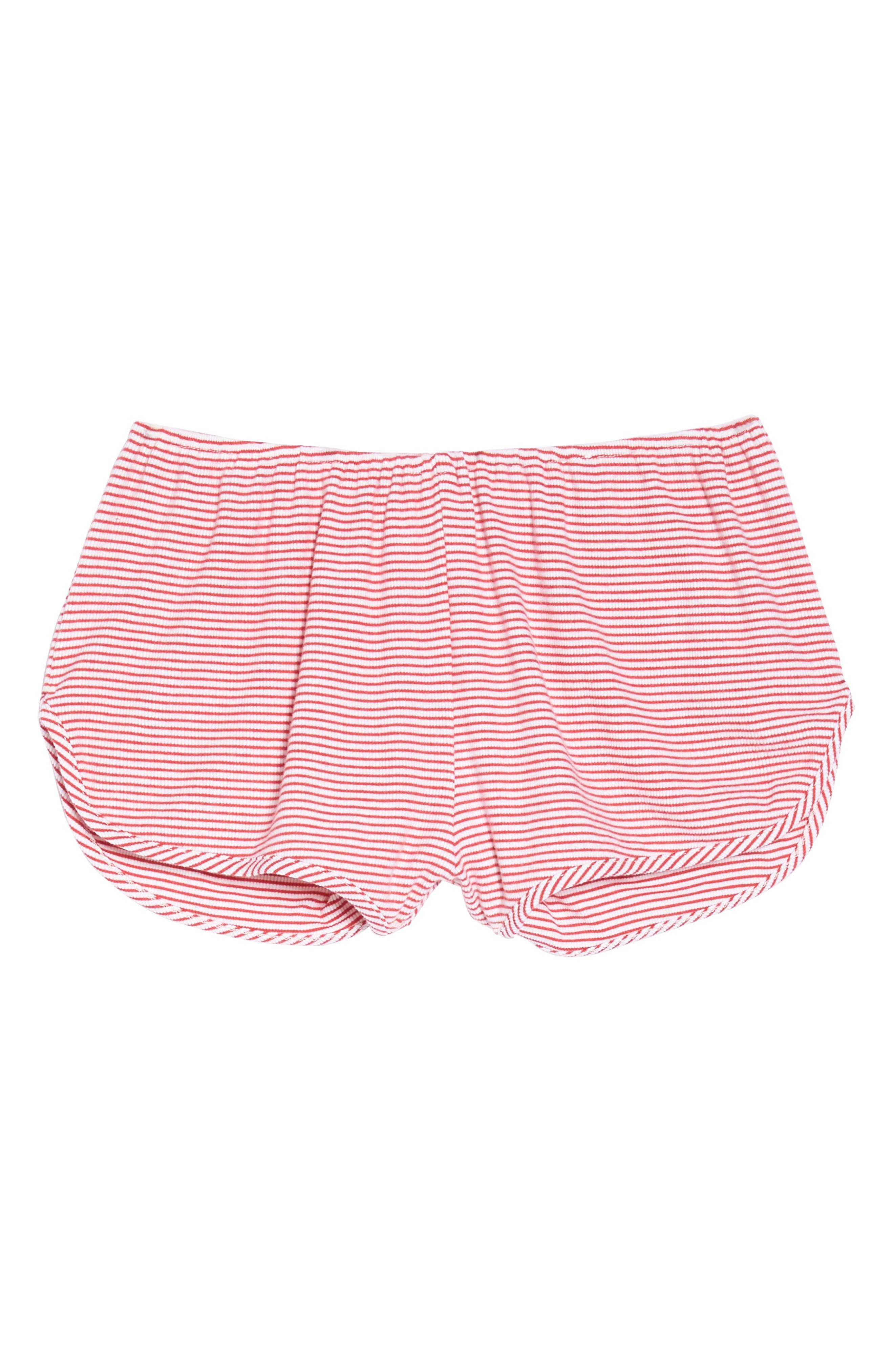 Penny Shorts,                             Alternate thumbnail 6, color,                             Red Stripe