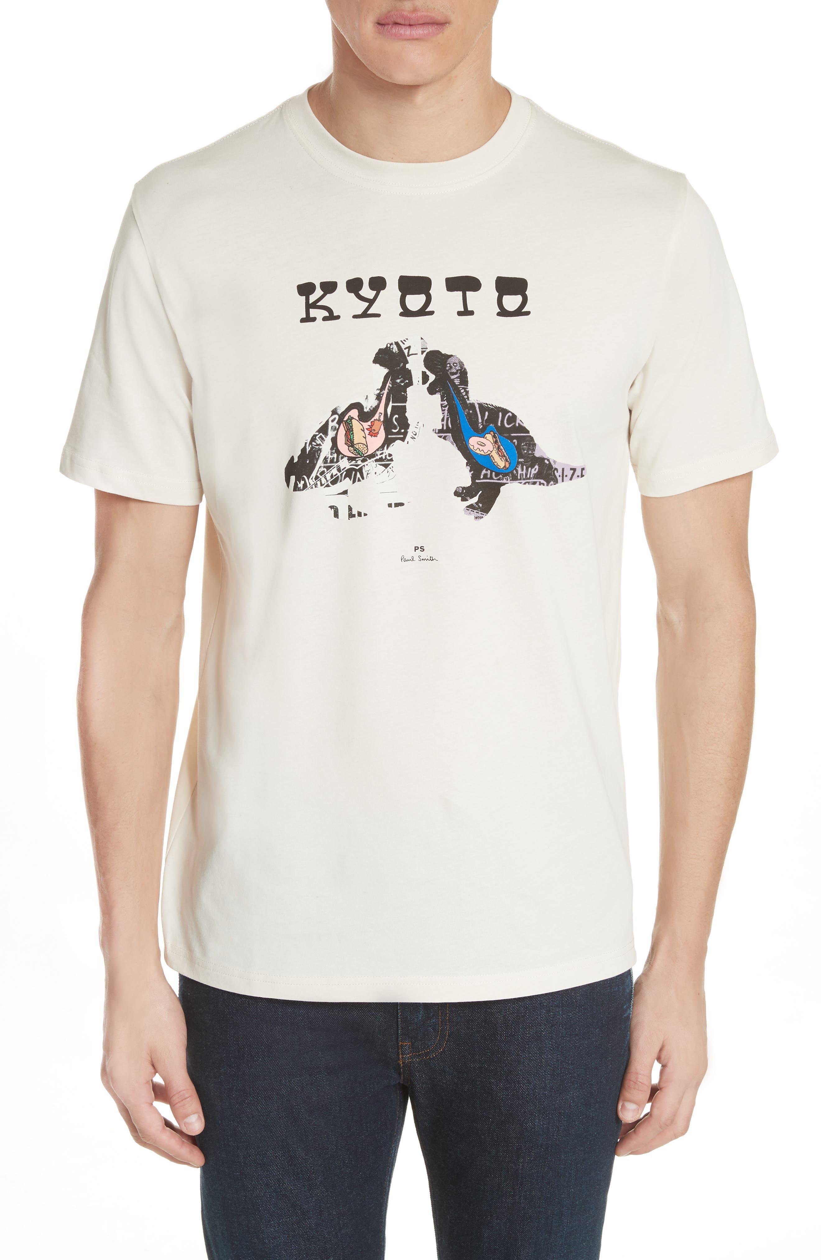 Kyoto Graphic T-Shirt,                             Main thumbnail 1, color,                             Natural