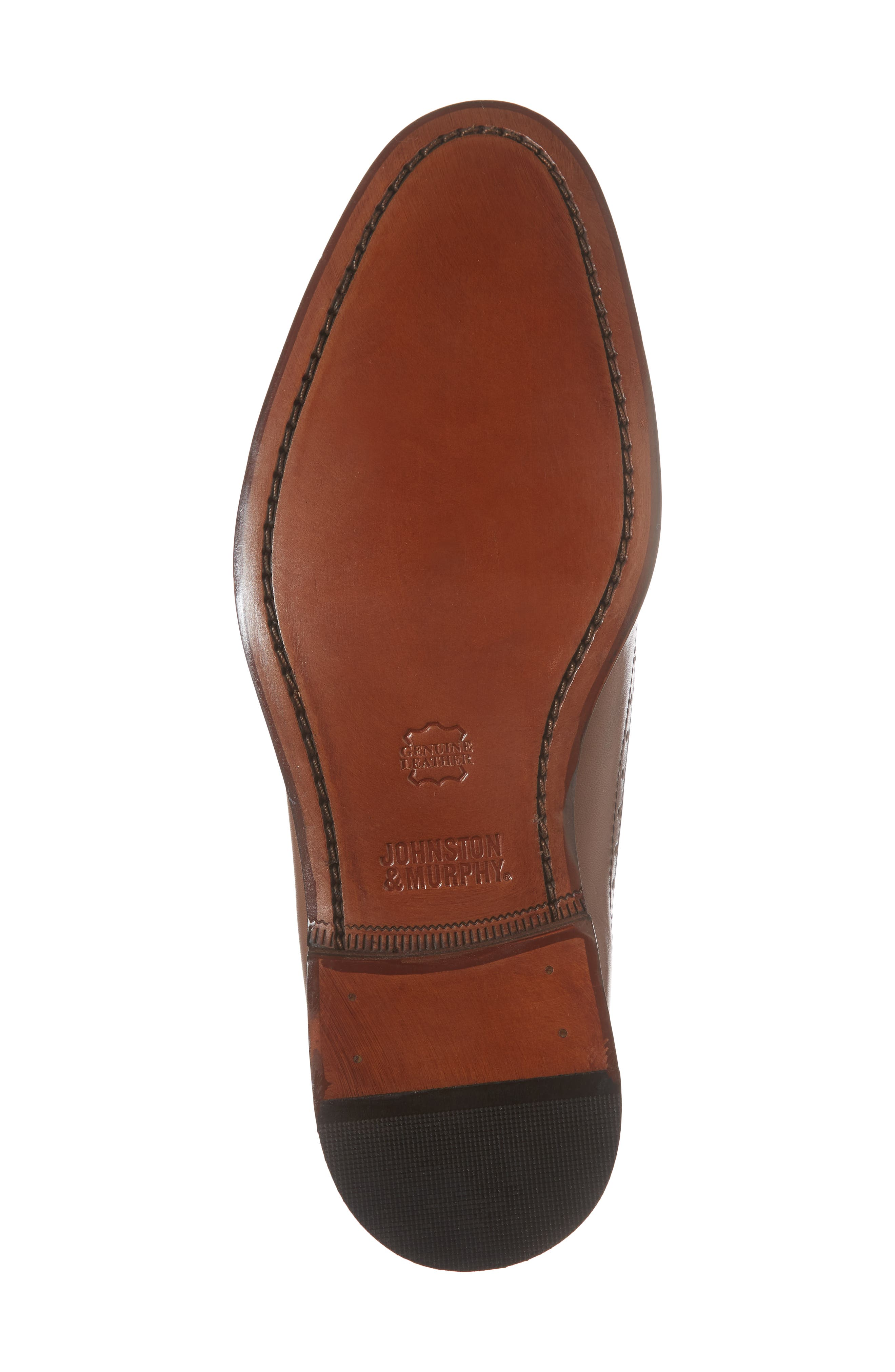 Bradford Wingtip Oxford,                             Alternate thumbnail 6, color,                             Tan Leather