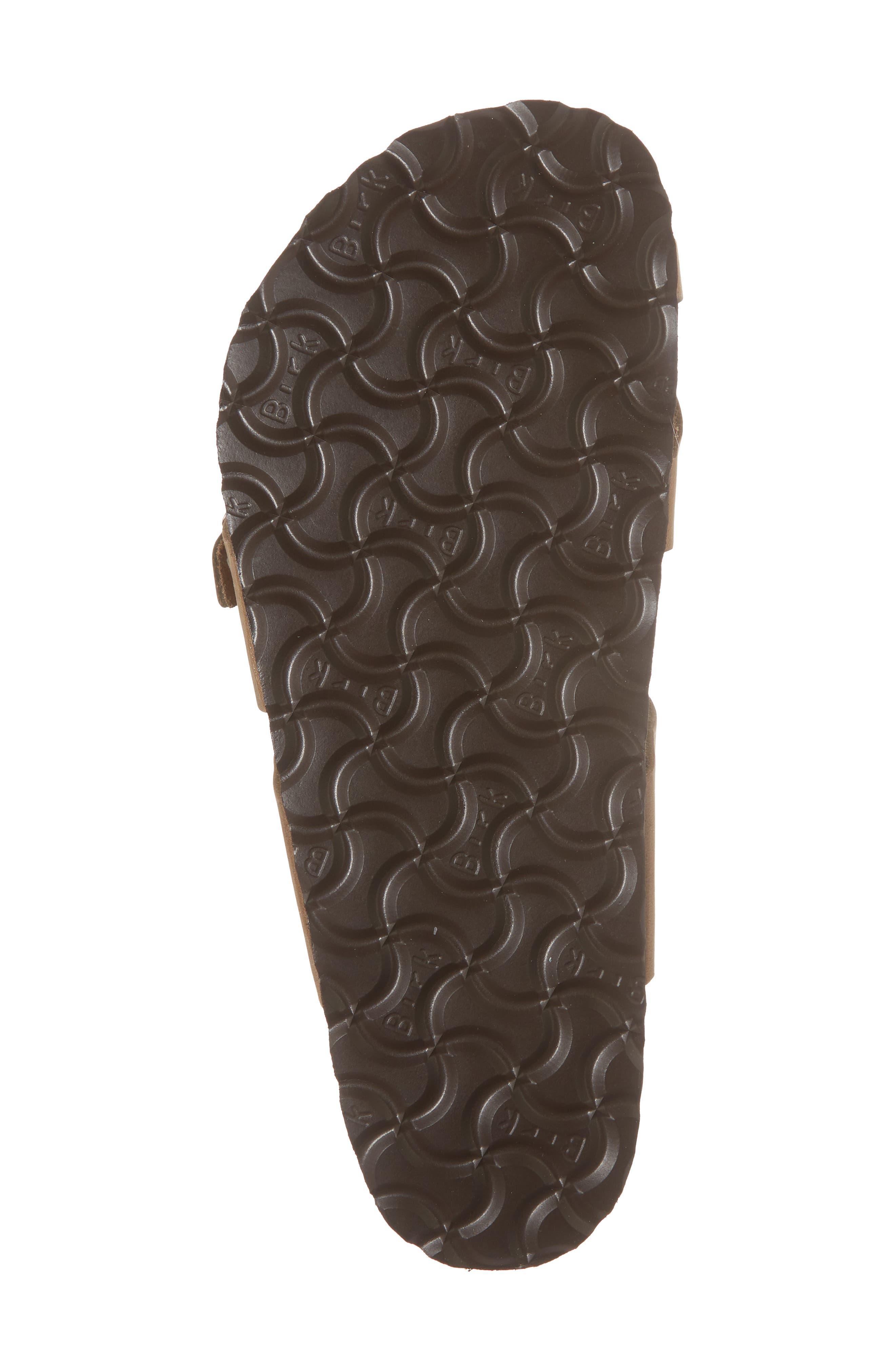 Mayari Slide Sandal,                             Alternate thumbnail 6, color,                             Tobacco Oiled Leather