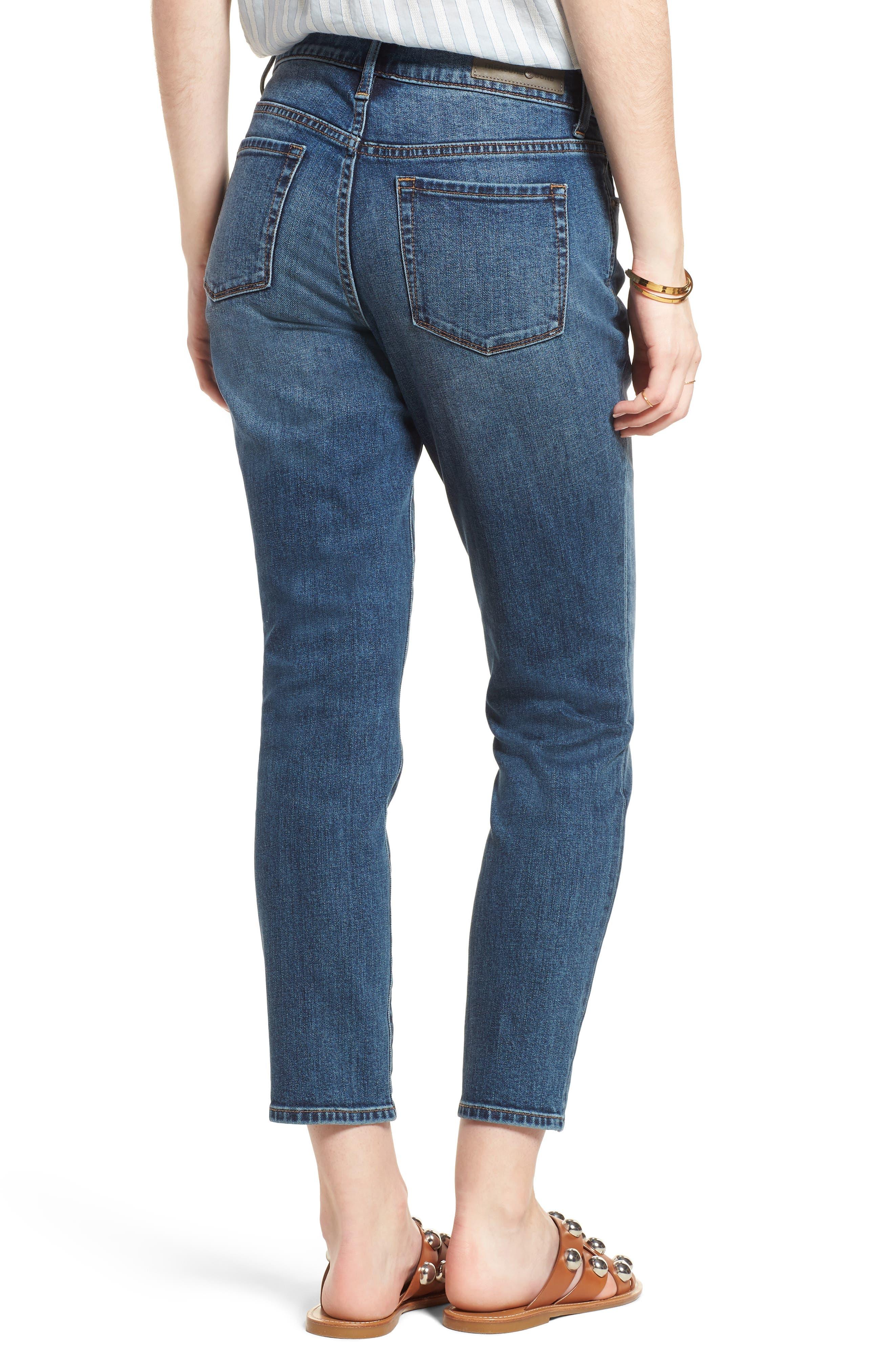 Alternate Image 2  - Treasure & Bond Grant Ankle Boyfriend Jeans (Gravel Dusk Vintage)