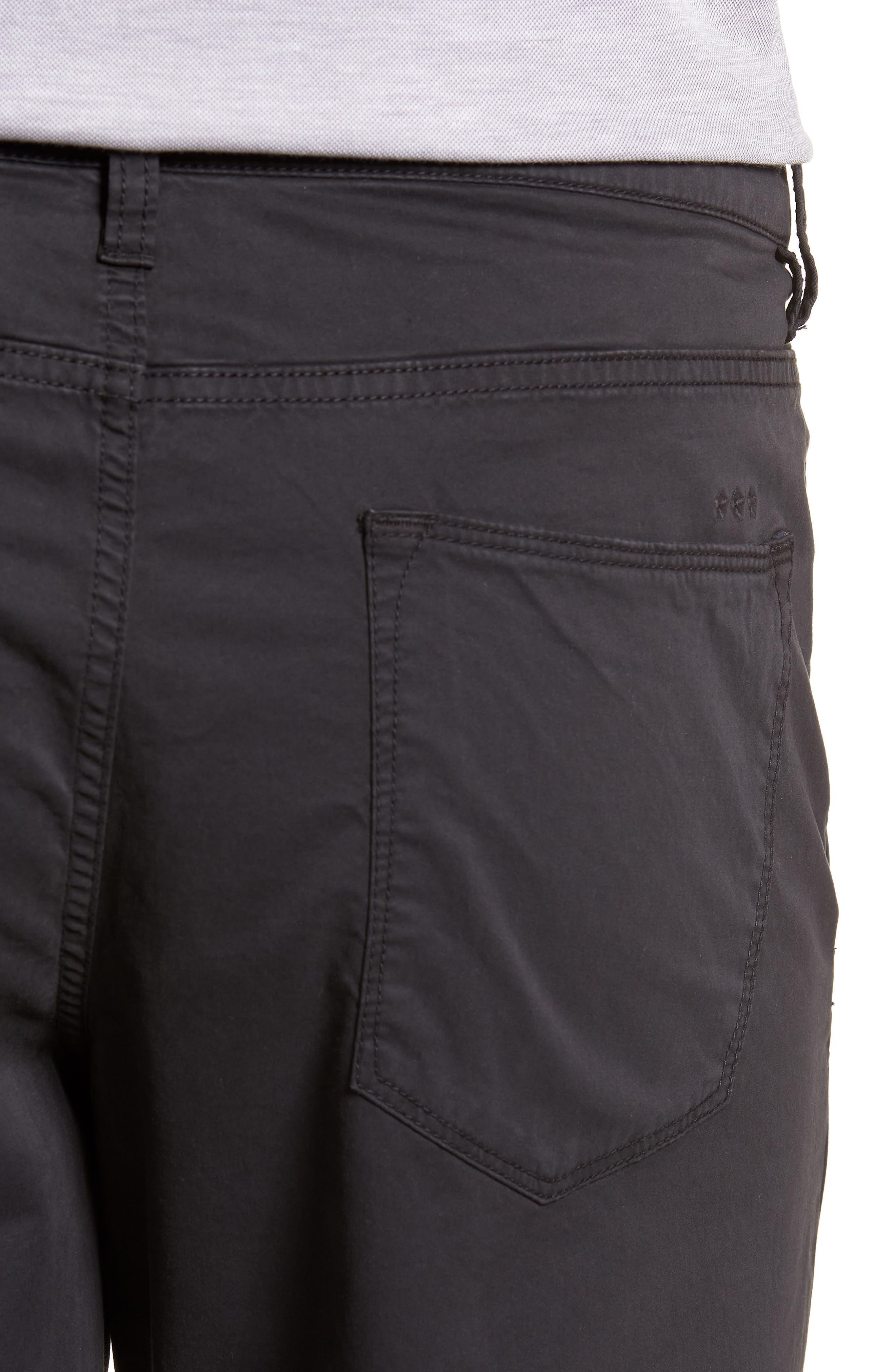 Casual Shorts,                             Alternate thumbnail 4, color,                             Black