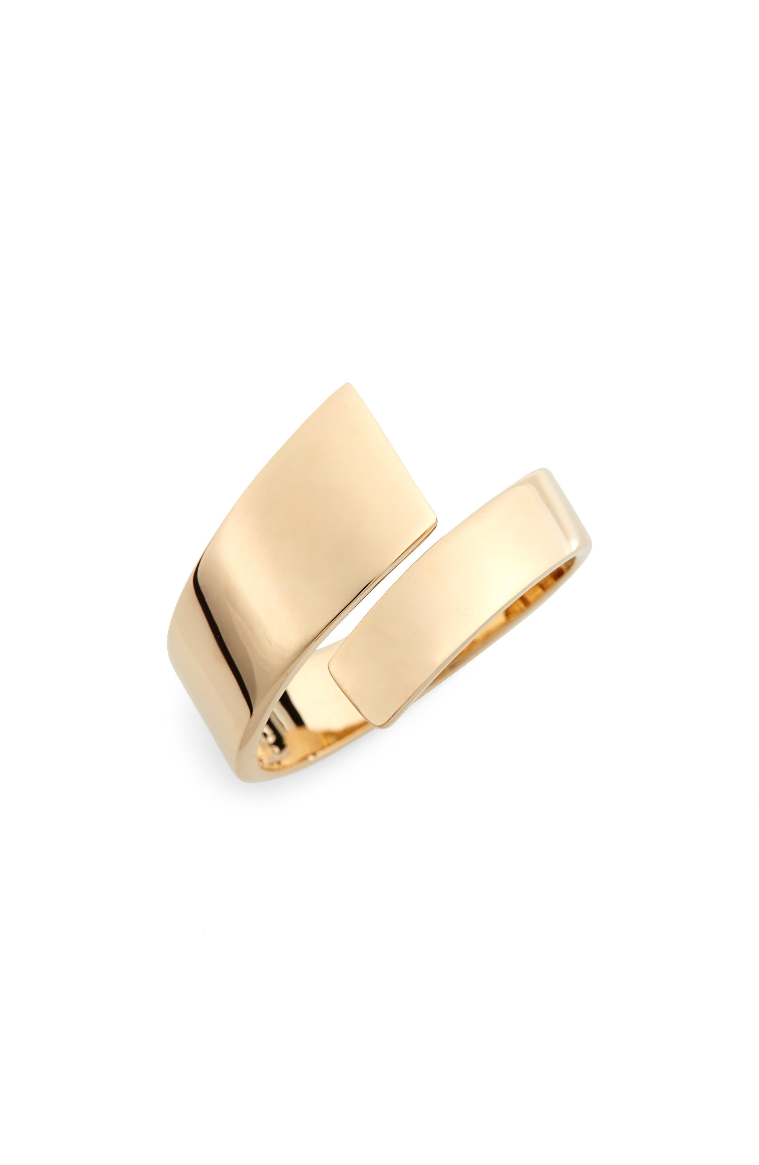 Ofira Open Wrap Ring,                         Main,                         color, Yellow Gold