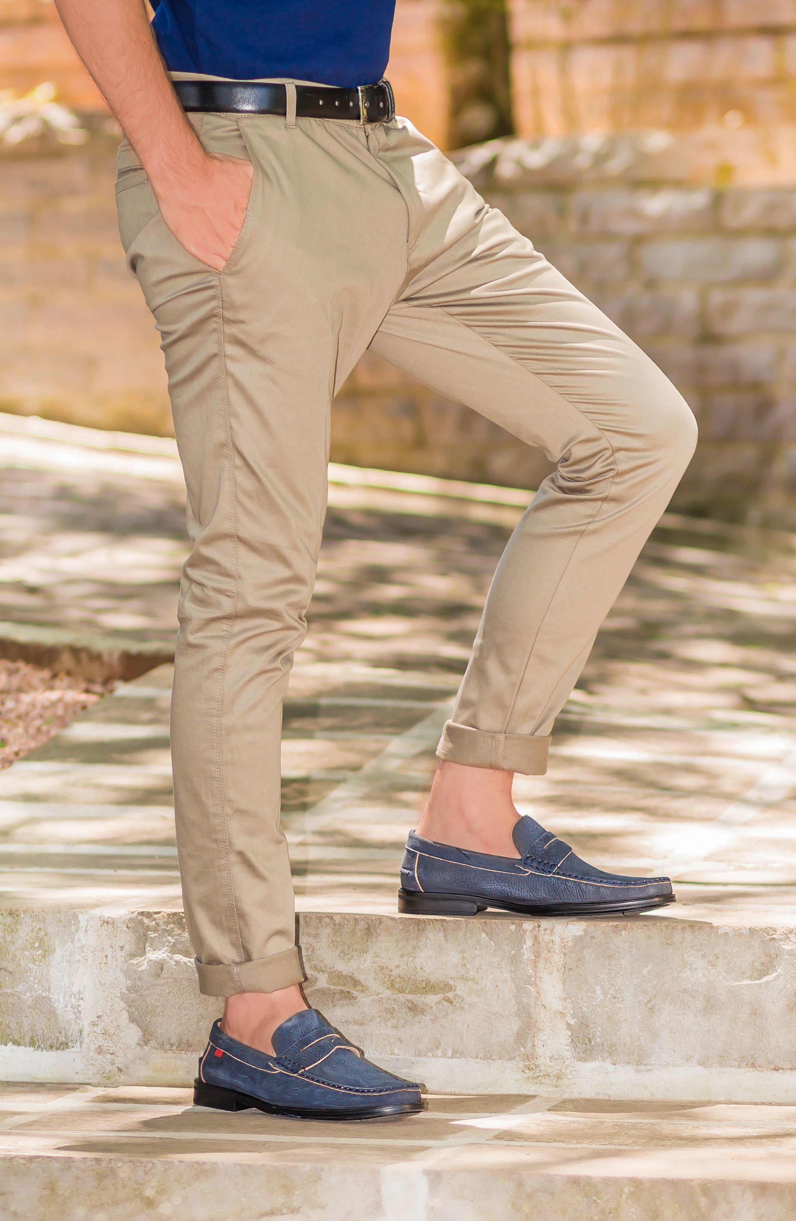Cortland Penny Loafer,                             Alternate thumbnail 6, color,