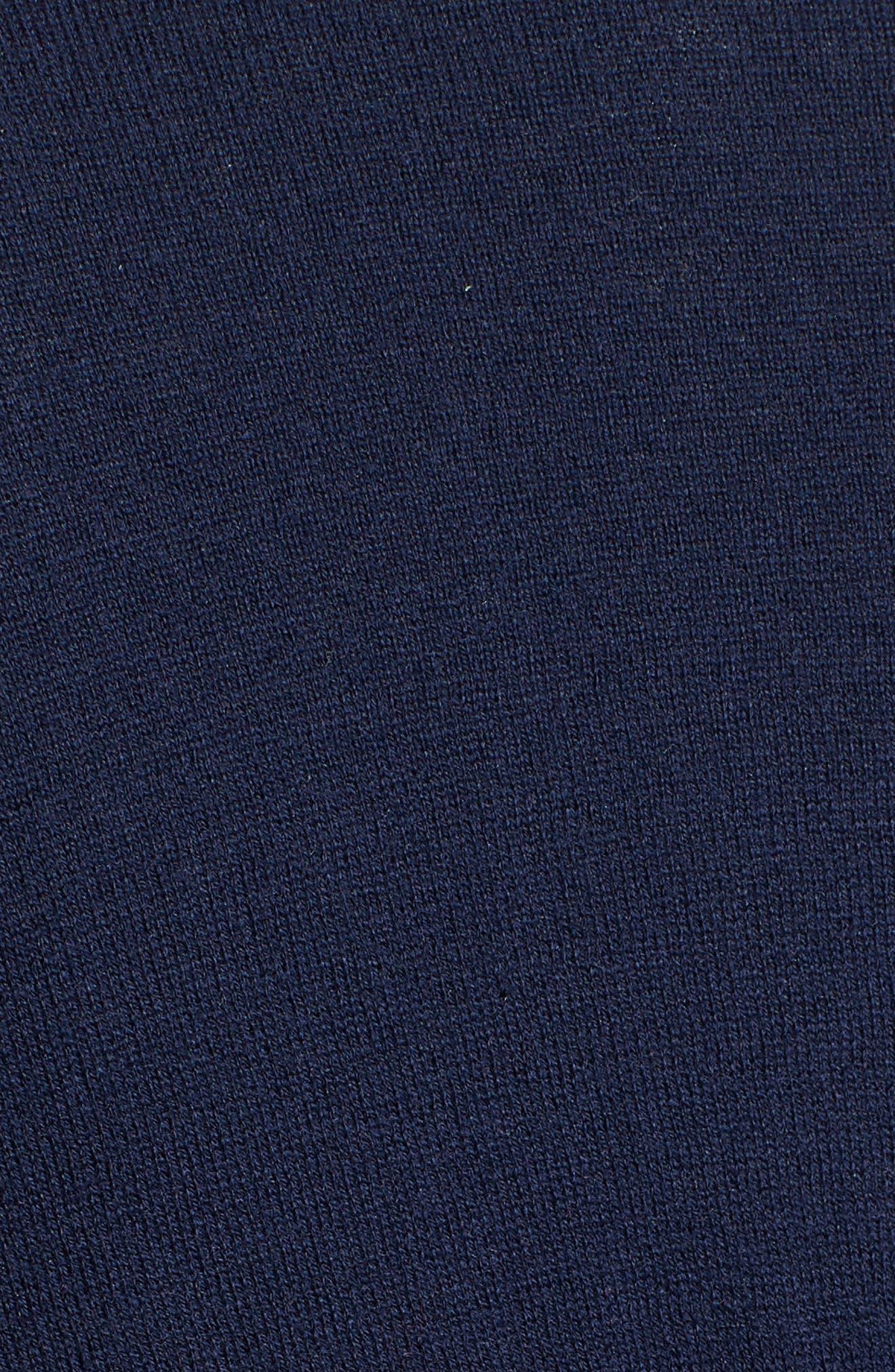 Lightweight Cardigan,                             Alternate thumbnail 6, color,                             Navy Iris