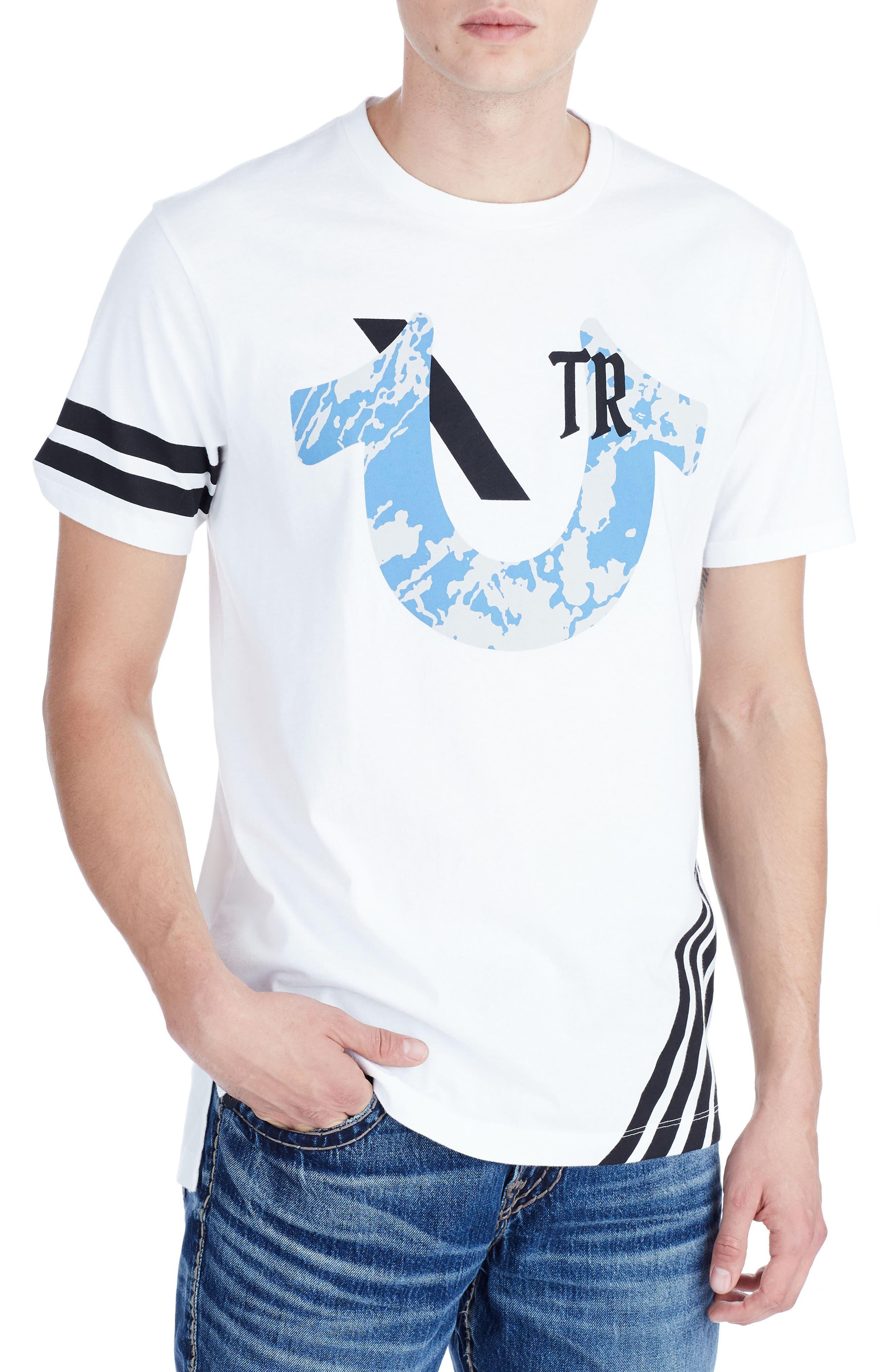 Sport T-Shirt,                         Main,                         color, Optic White
