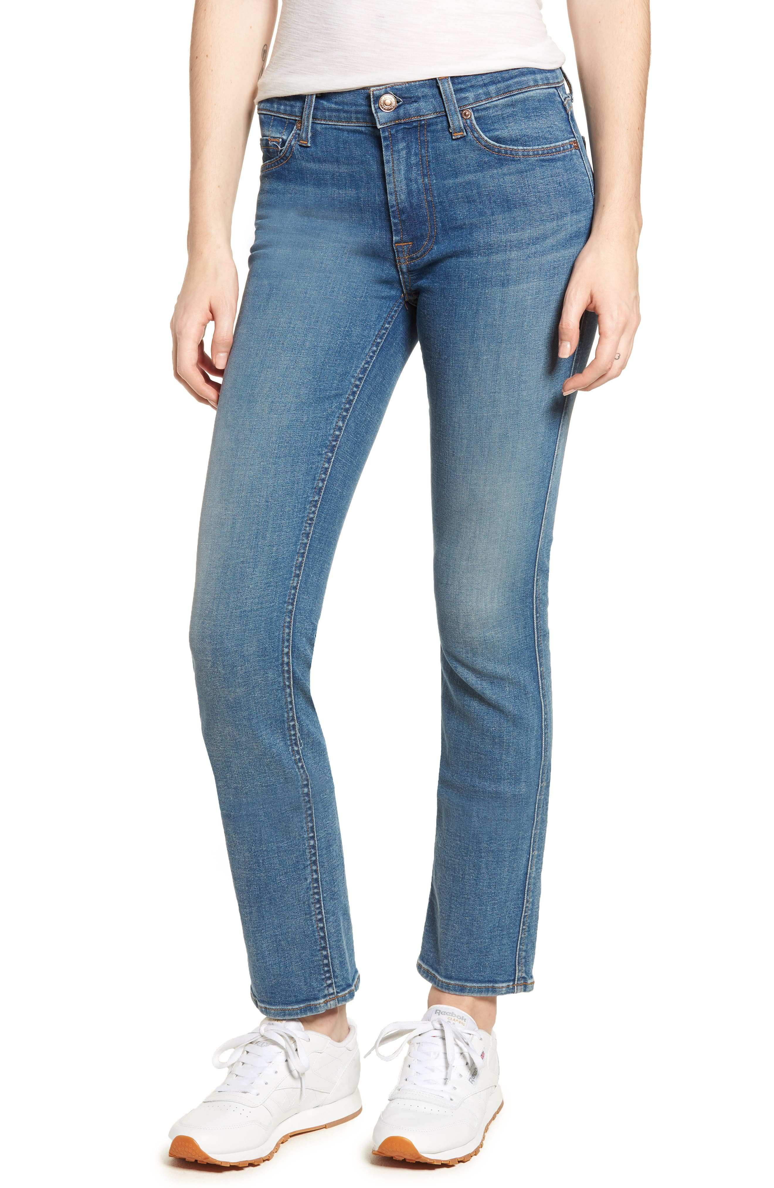 Dylan Straight Leg Jeans,                         Main,                         color, Heritage Art Walk