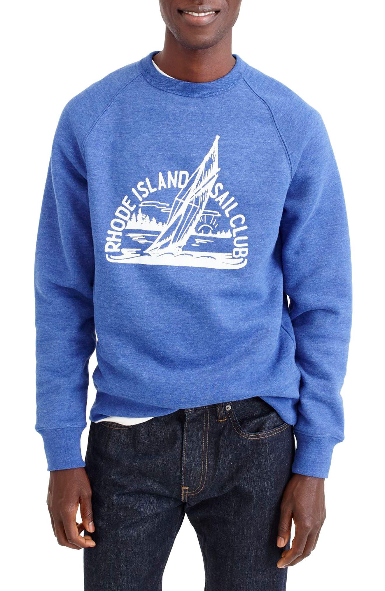 J.Crew Rhode Island Sail Club Sweatshirt