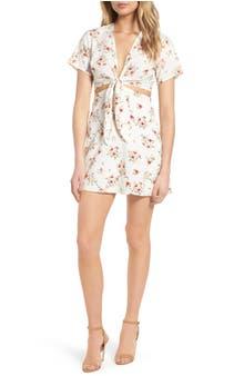 Emily Cutout Minidress