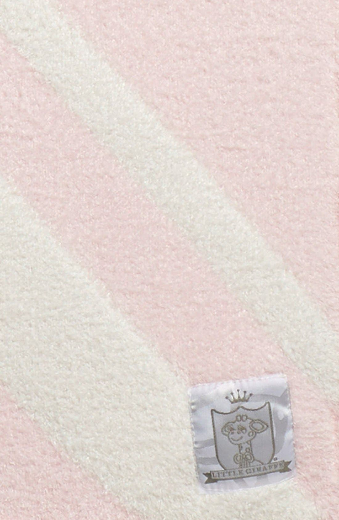 'Dolce Union Jack' Blanket,                             Alternate thumbnail 2, color,                             Pink