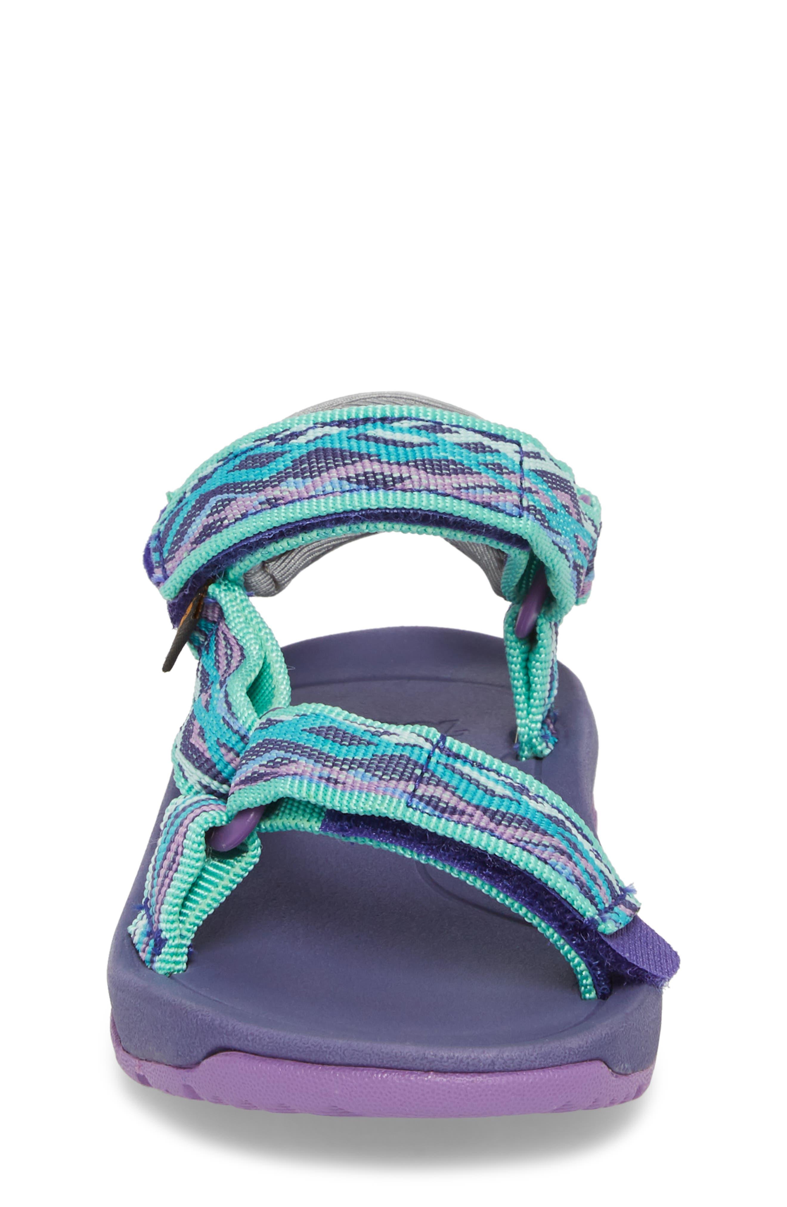Hurricane XLT 2 Sandal,                             Alternate thumbnail 4, color,                             Delmar Sea Glass / Purple