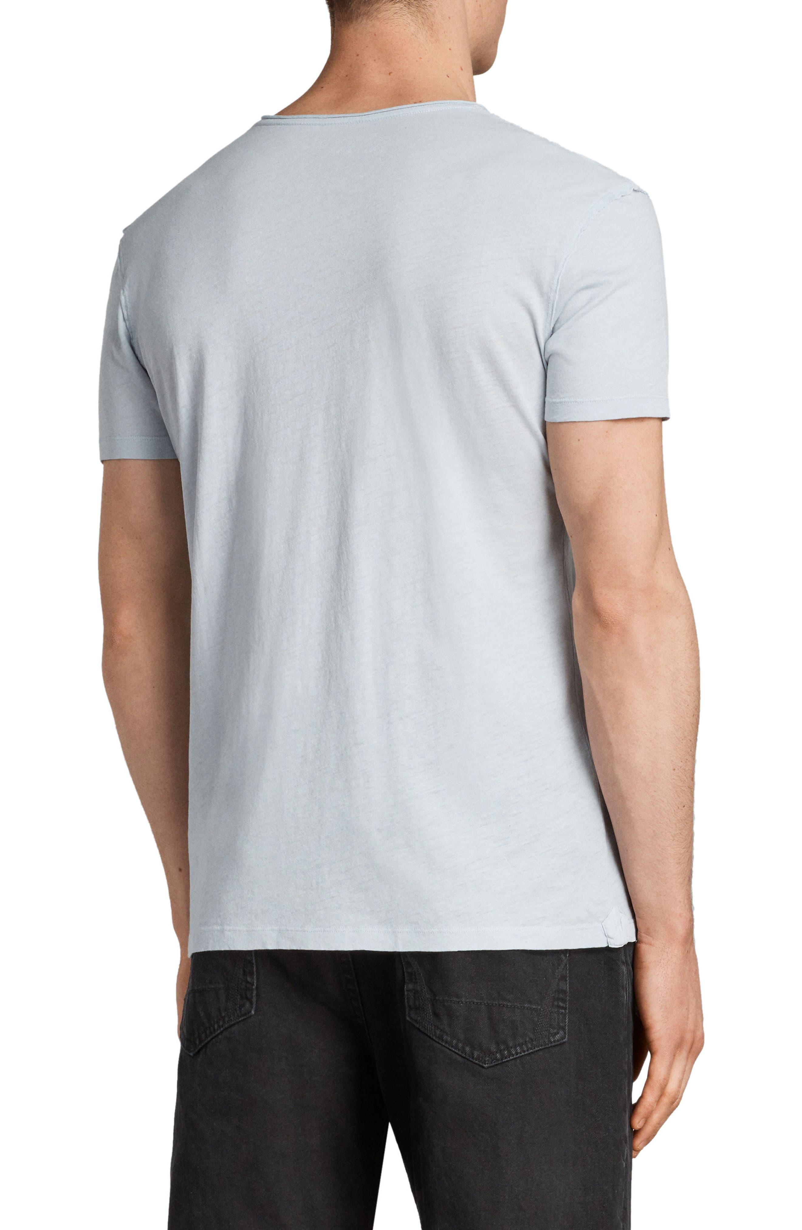 Slim Fit Crewneck T-Shirt,                             Alternate thumbnail 2, color,                             Celest Blue