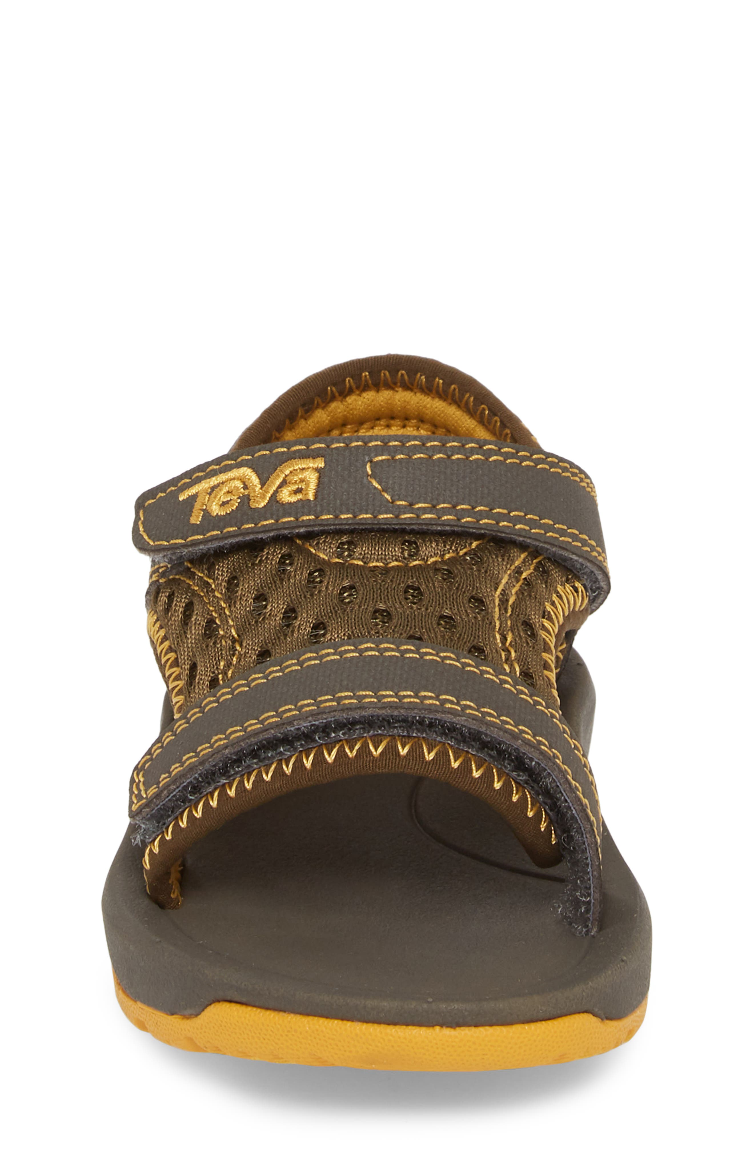 Psyclone XLT Sandal,                             Alternate thumbnail 4, color,                             Dark Olive