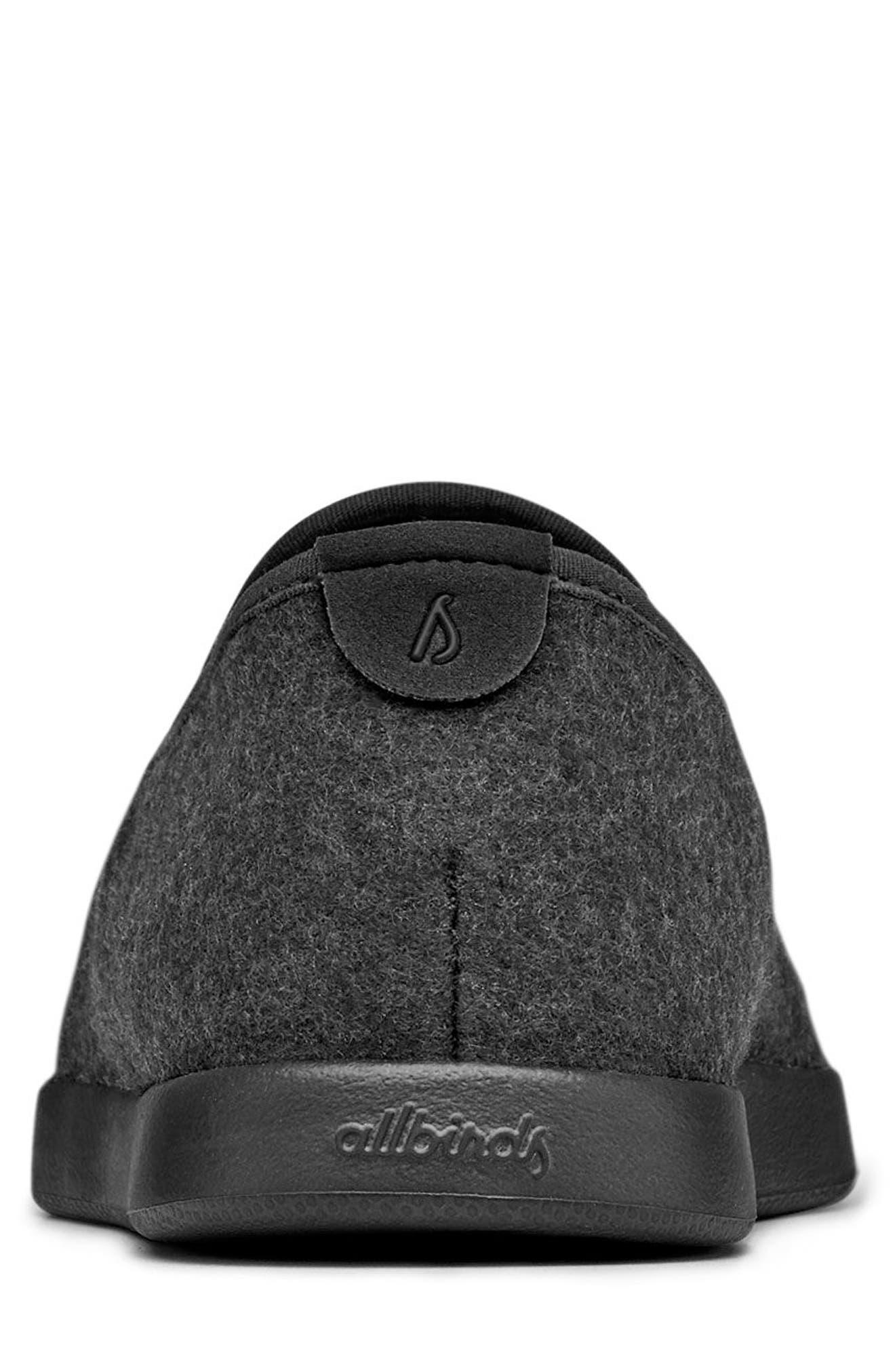 Wool Lounger,                             Alternate thumbnail 3, color,                             Natural Black