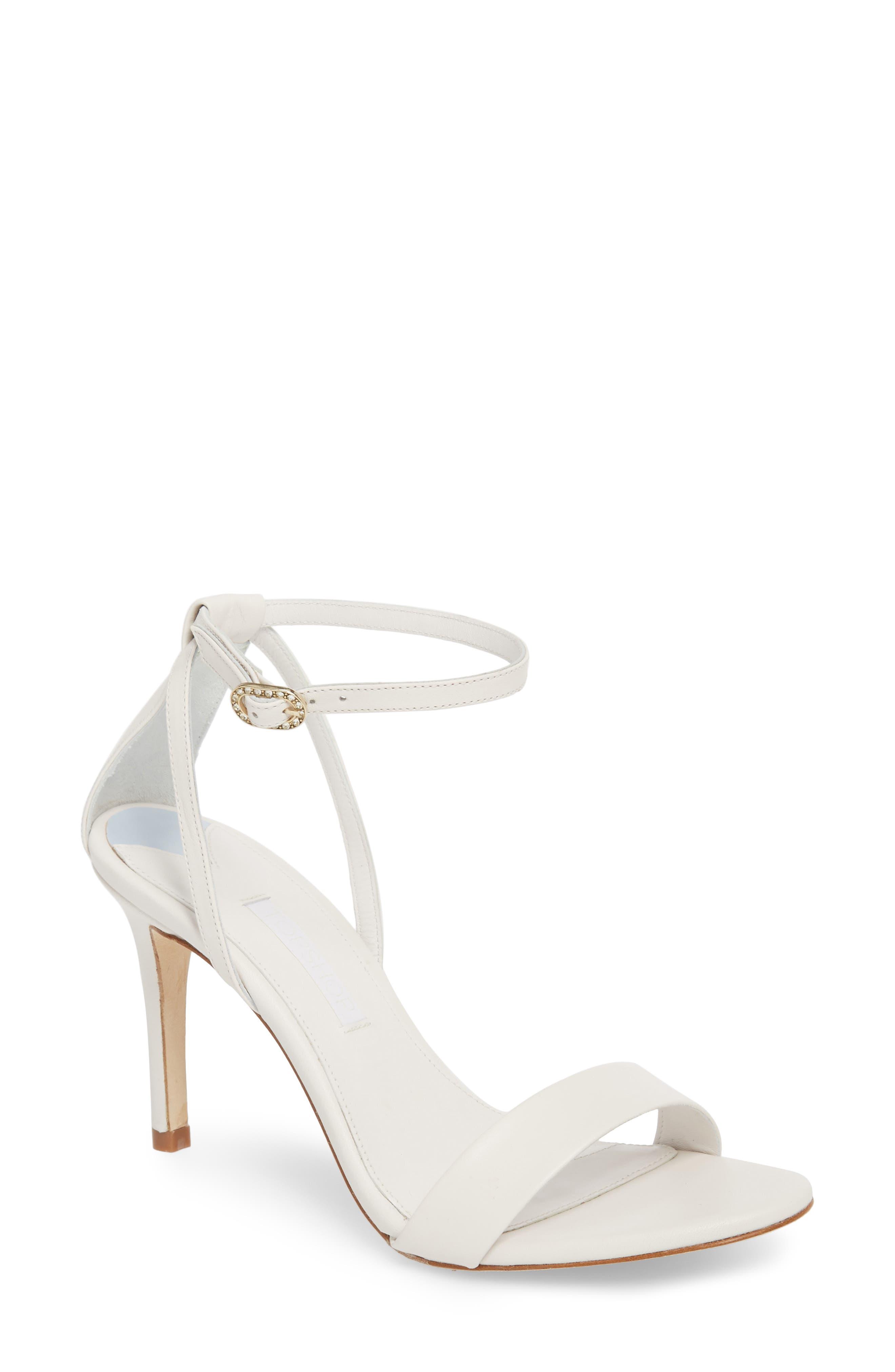 Bea Halo Strap Sandal,                         Main,                         color, White
