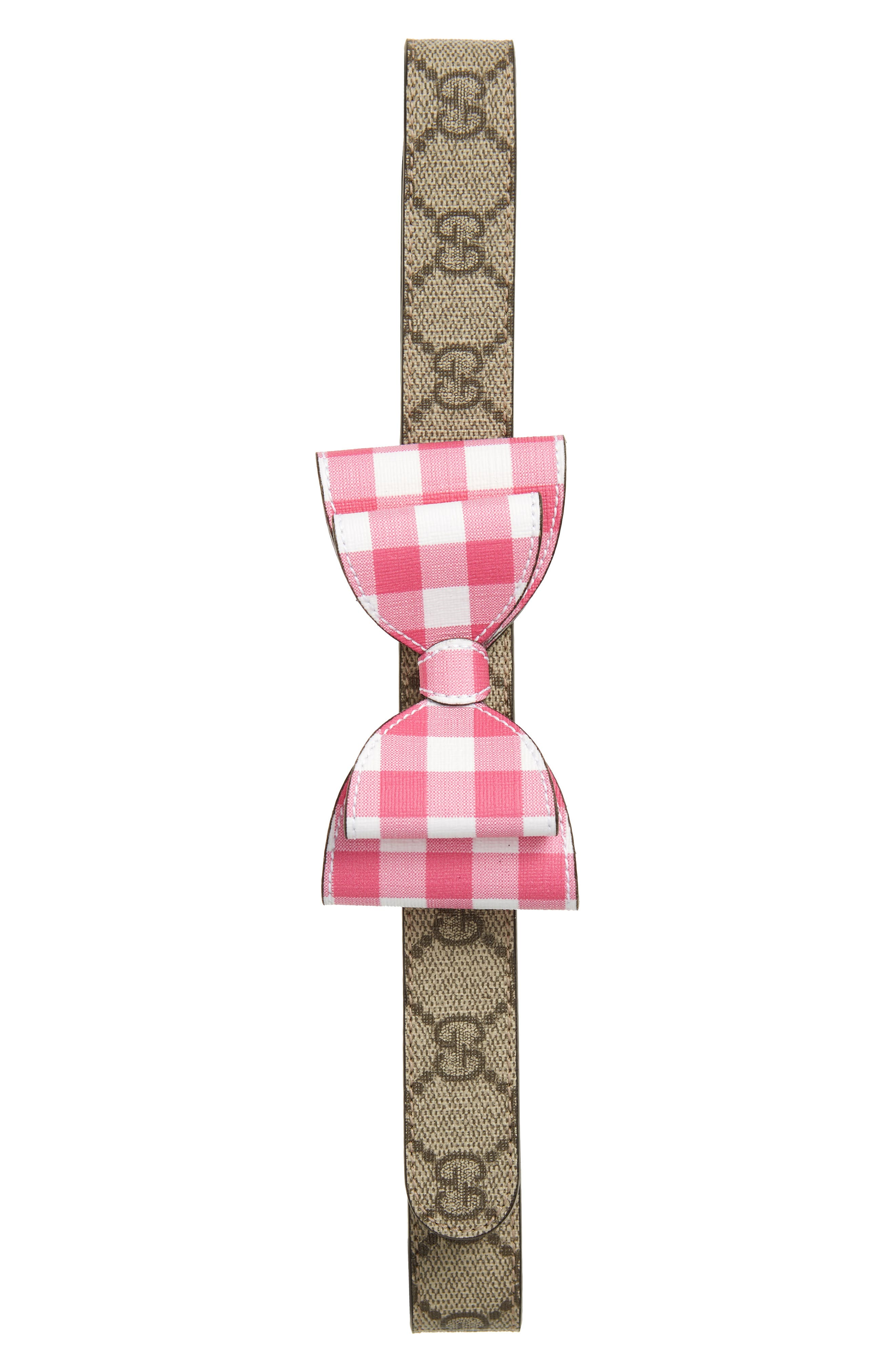 Gucci Cintura Belt,                             Main thumbnail 1, color,                             Pink Multi