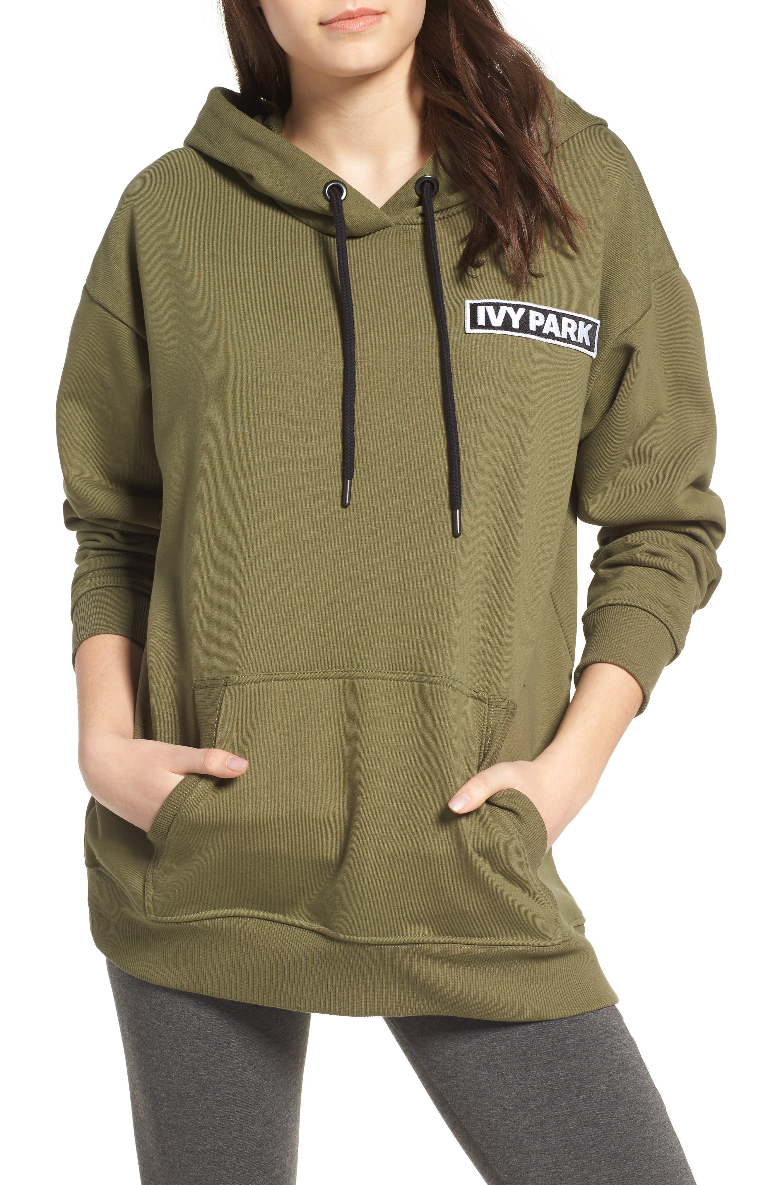 Main Image - IVY PARK® Badge Logo Hoodie