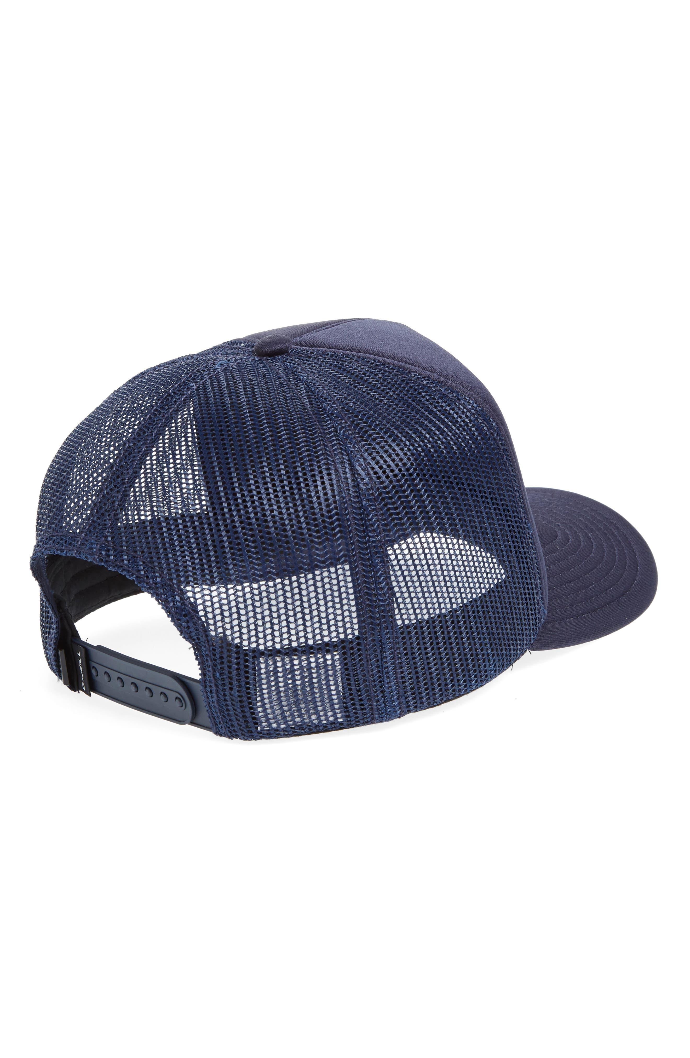 Yardsale Trucker Hat,                             Alternate thumbnail 2, color,                             Navy