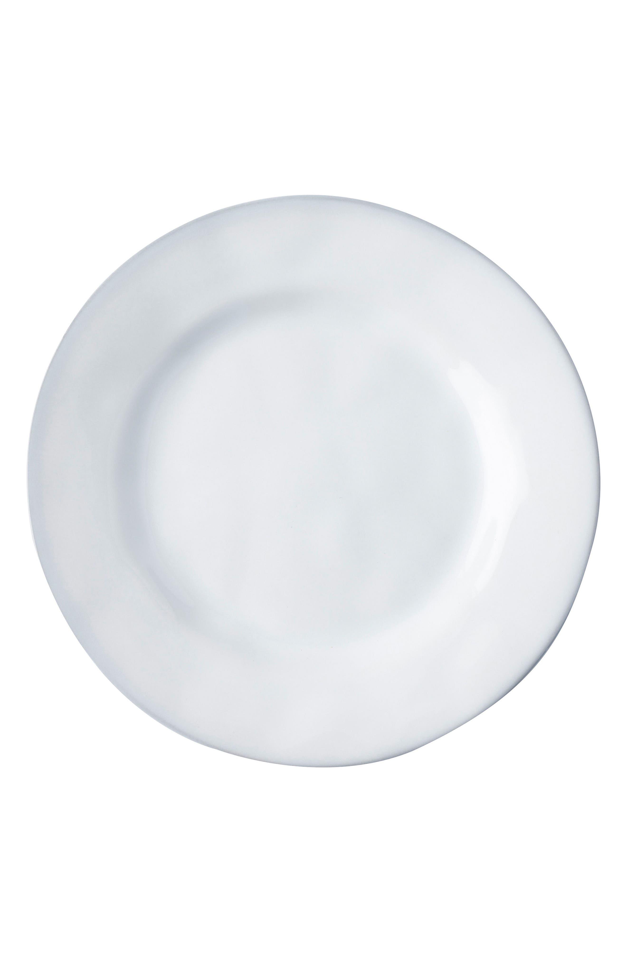 Quotidien White Truffle Ceramic Side Plate,                             Main thumbnail 1, color,                             White Truffle