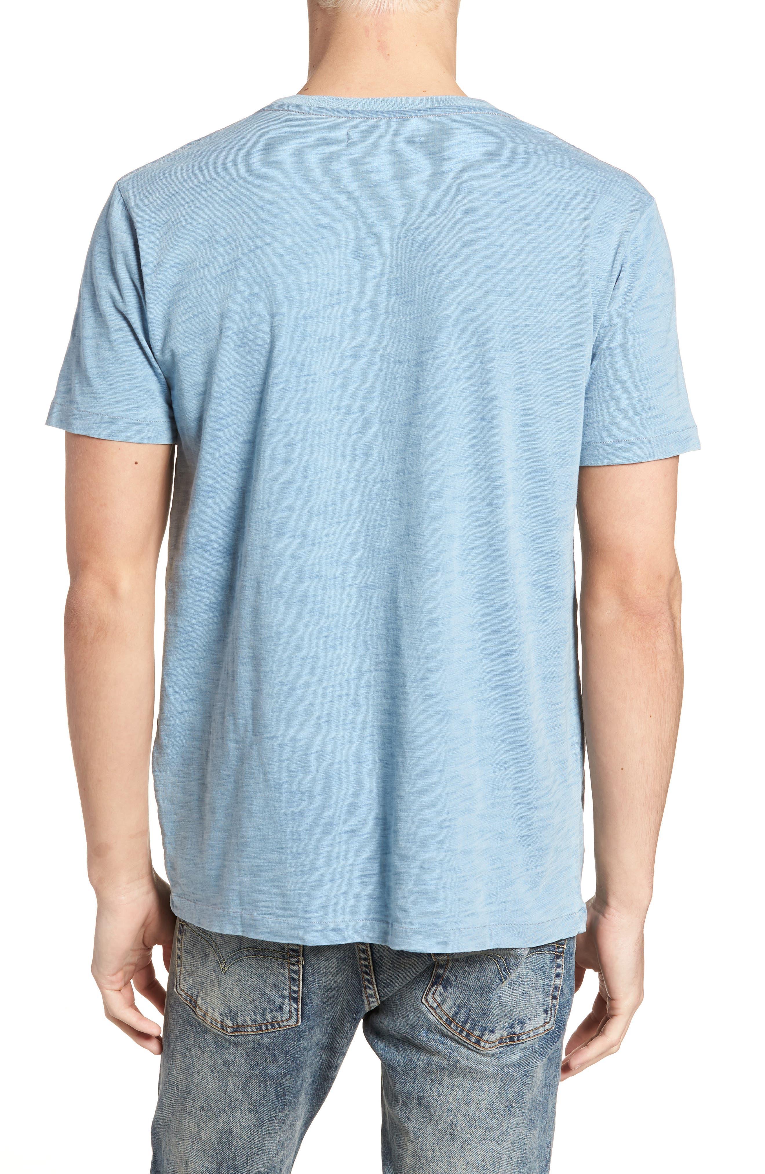 Pocket T-Shirt,                             Alternate thumbnail 2, color,                             Washed Indigo