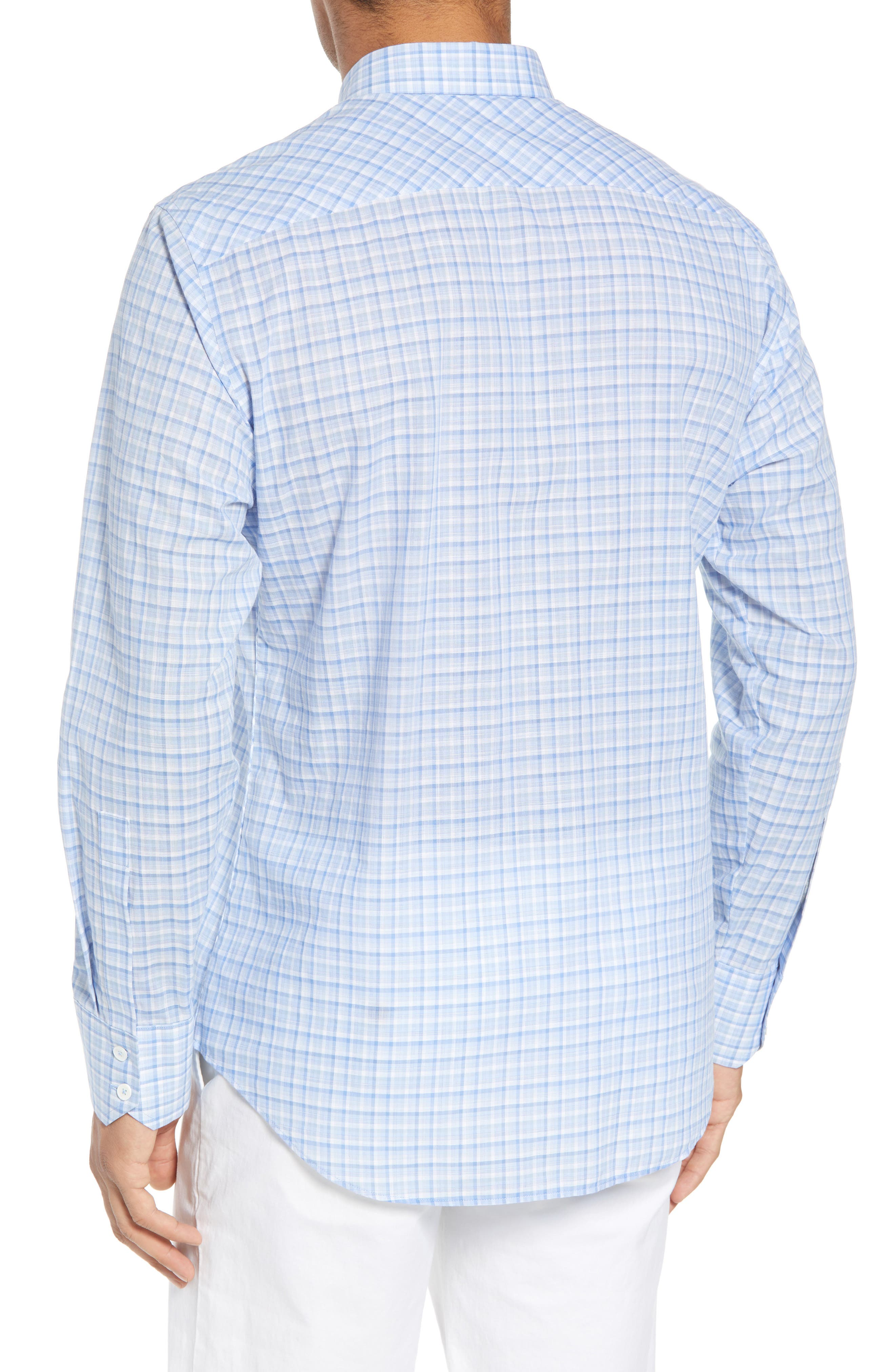Jian Regular Fit Sport Shirt,                             Alternate thumbnail 2, color,                             Sky