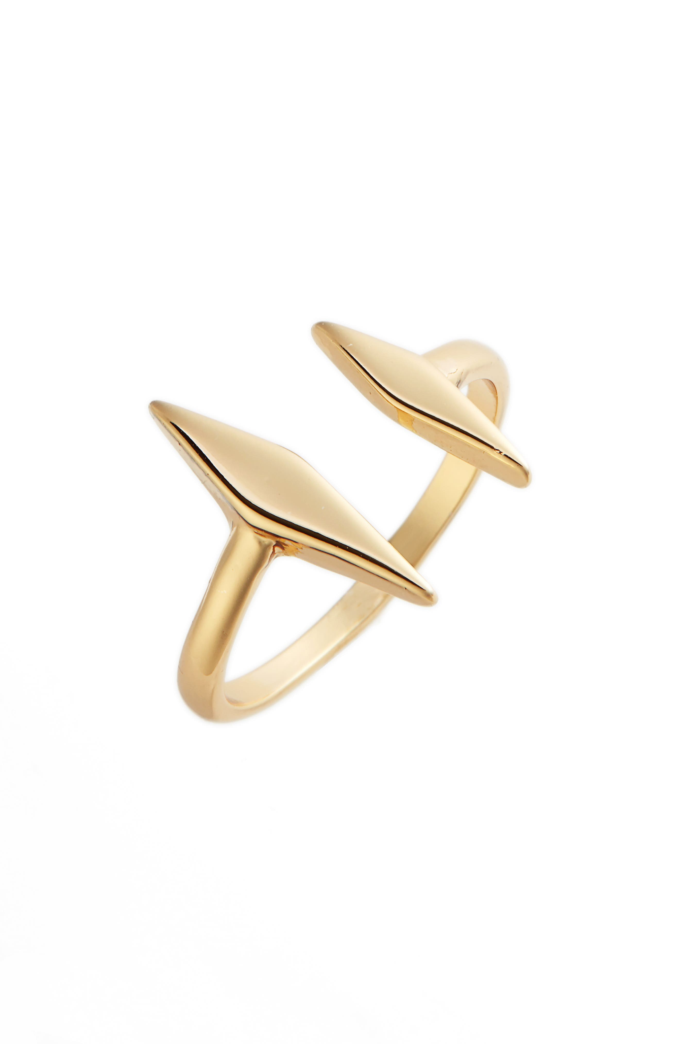 Windsor Open Ring,                             Main thumbnail 1, color,                             Gold