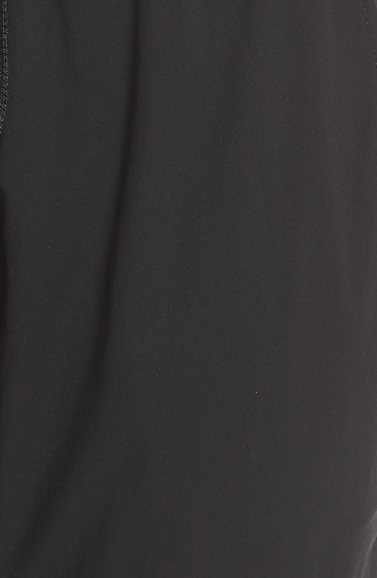 Cardio Harem Pants,                             Alternate thumbnail 6, color,                             Black
