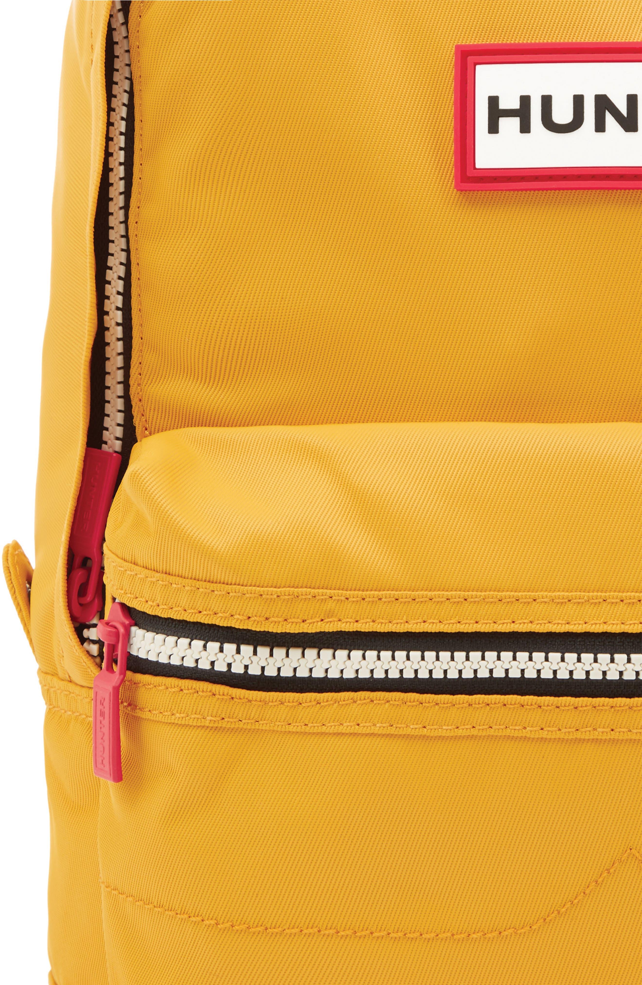 Original Water Resistant Nylon Backpack,                             Alternate thumbnail 3, color,                             Yellow