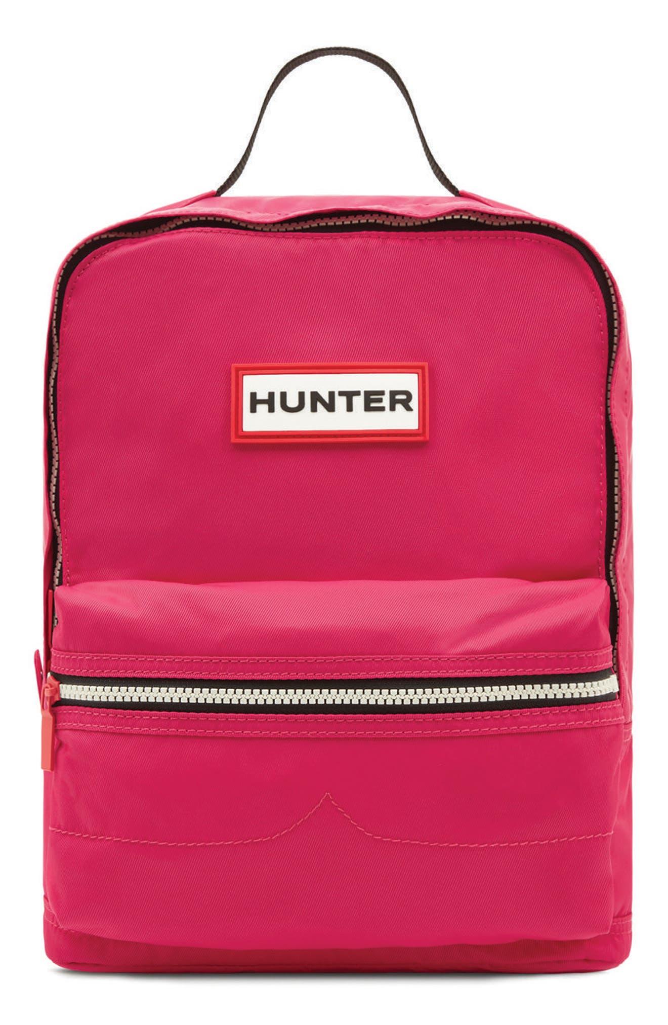 Original Water Resistant Nylon Backpack,                         Main,                         color, Bright Pink