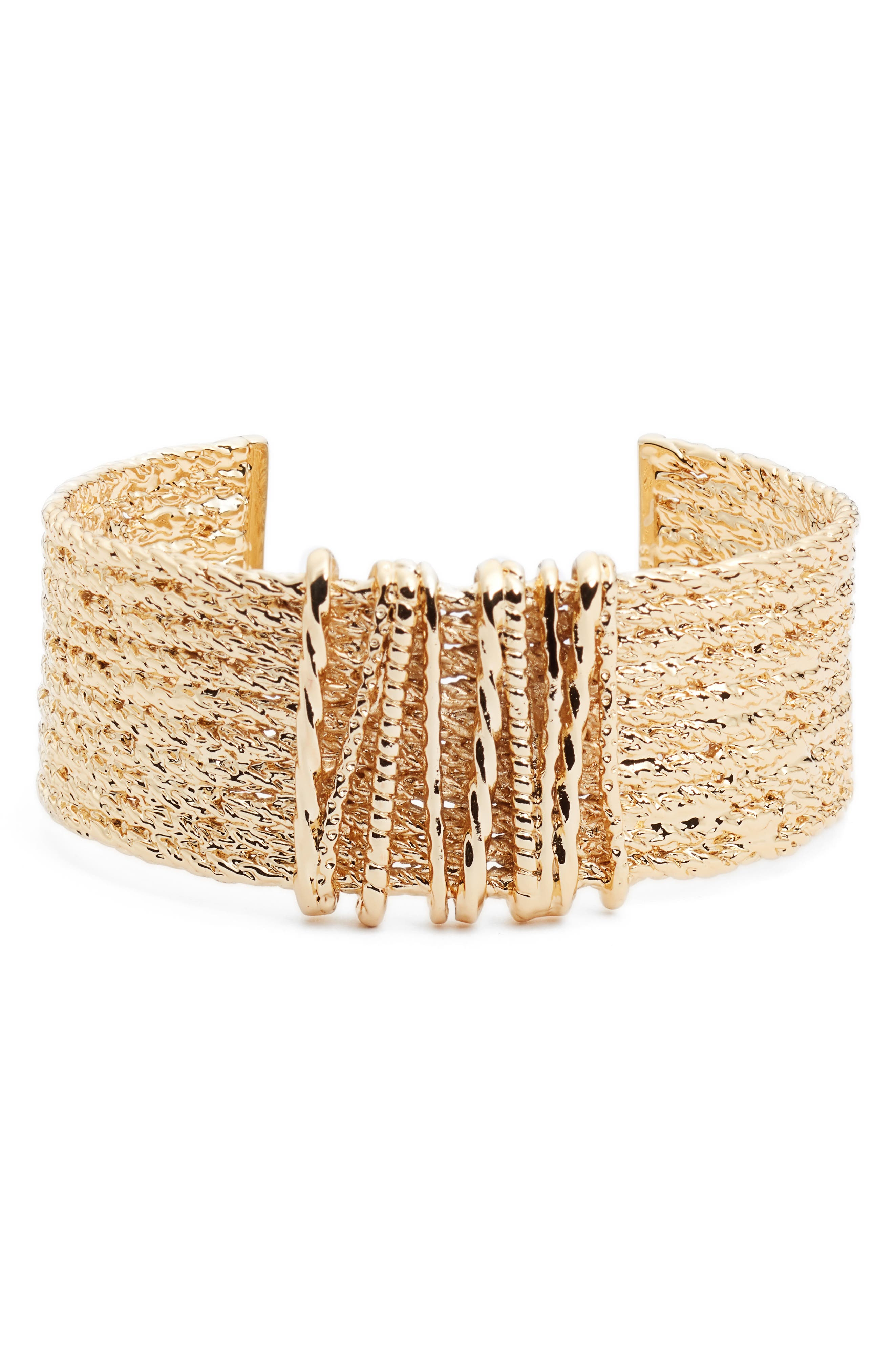 Sézane Axelle Cuff Bracelet