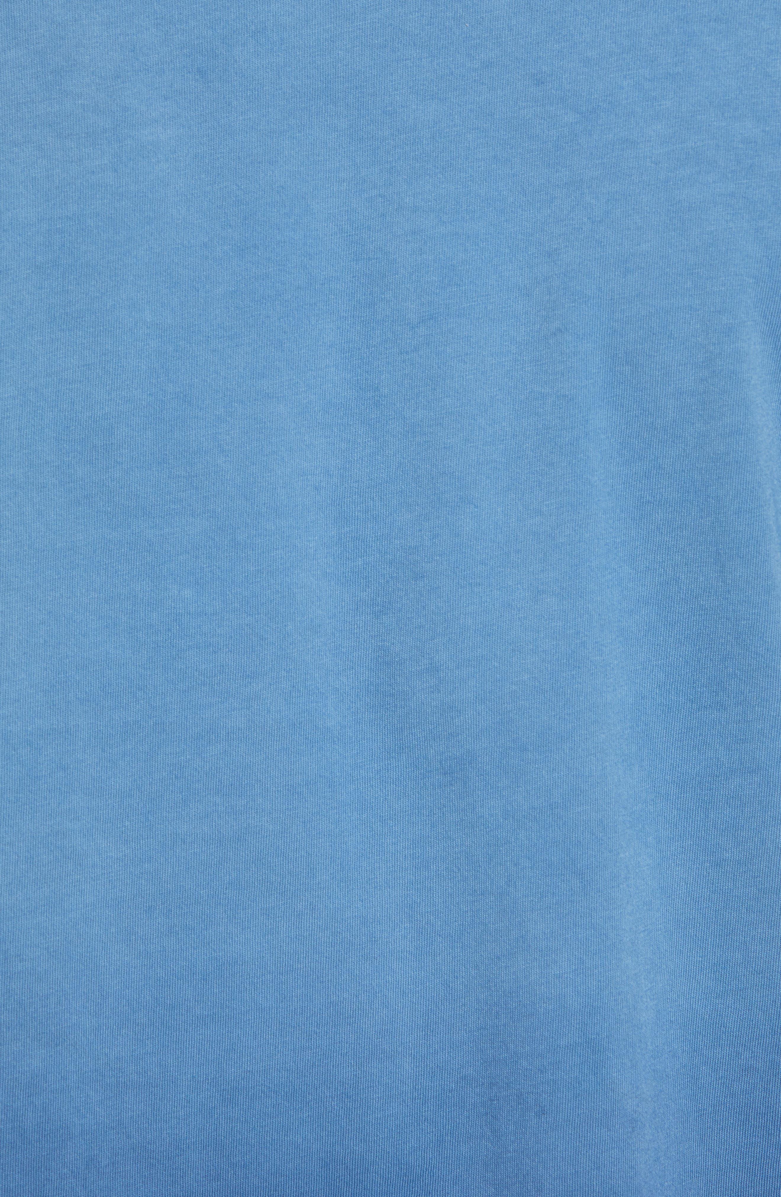 Dip Dye T-Shirt,                             Alternate thumbnail 5, color,                             Navy Ombre