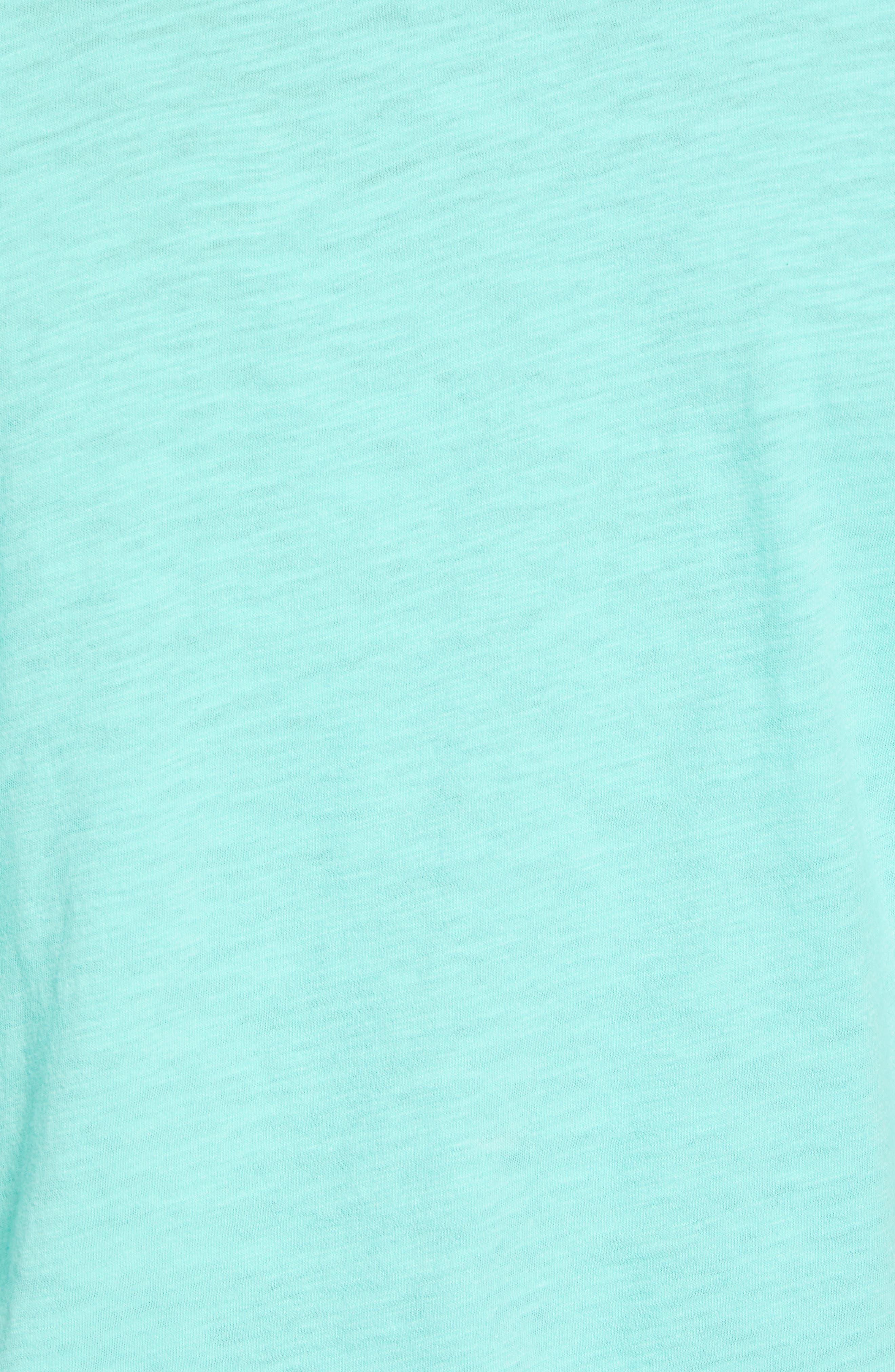 Sup Slub T-Shirt,                             Alternate thumbnail 5, color,                             Sup Bermuda Green