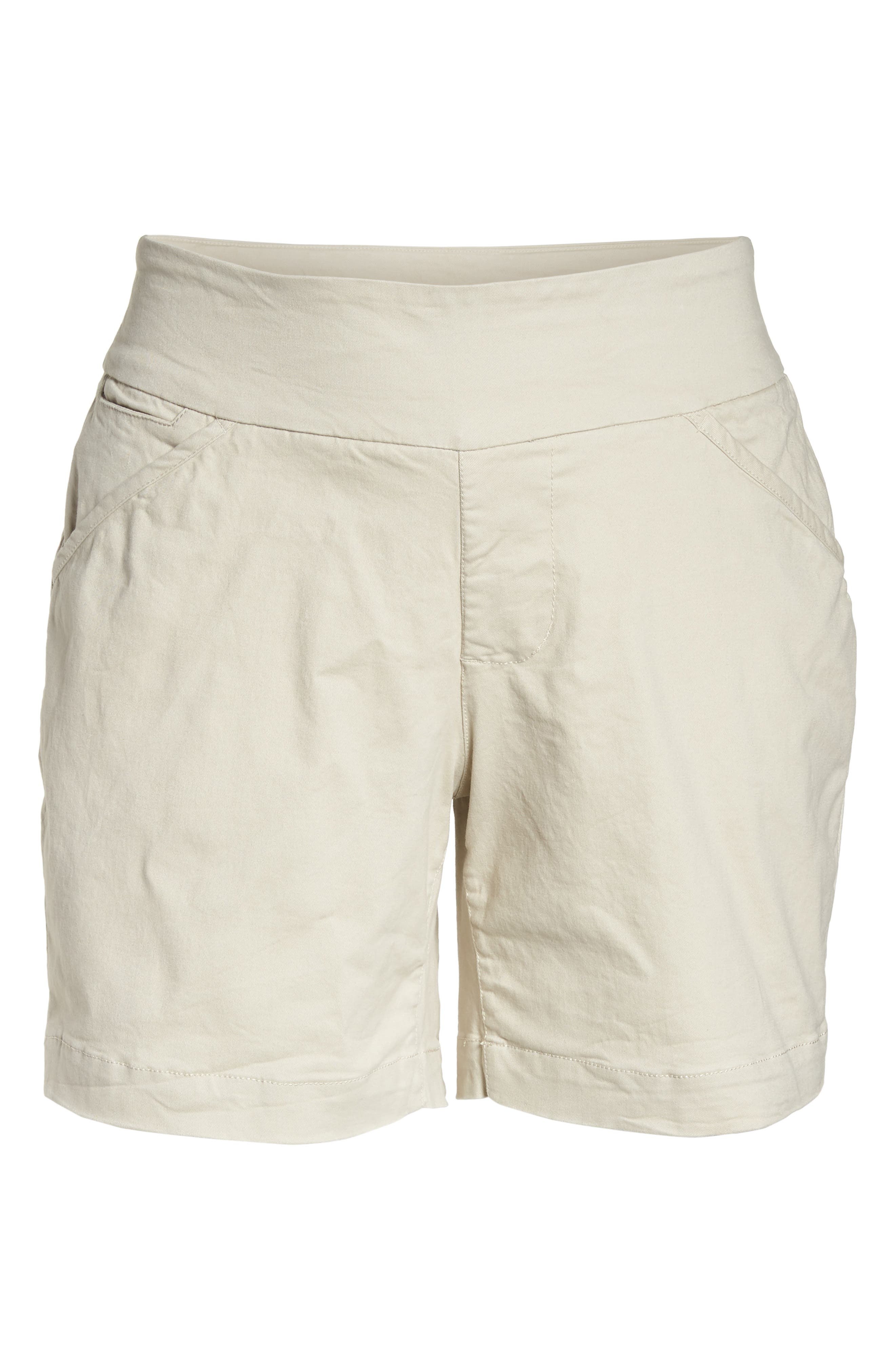 Ainsley Pull-On Shorts,                             Alternate thumbnail 6, color,                             Stone