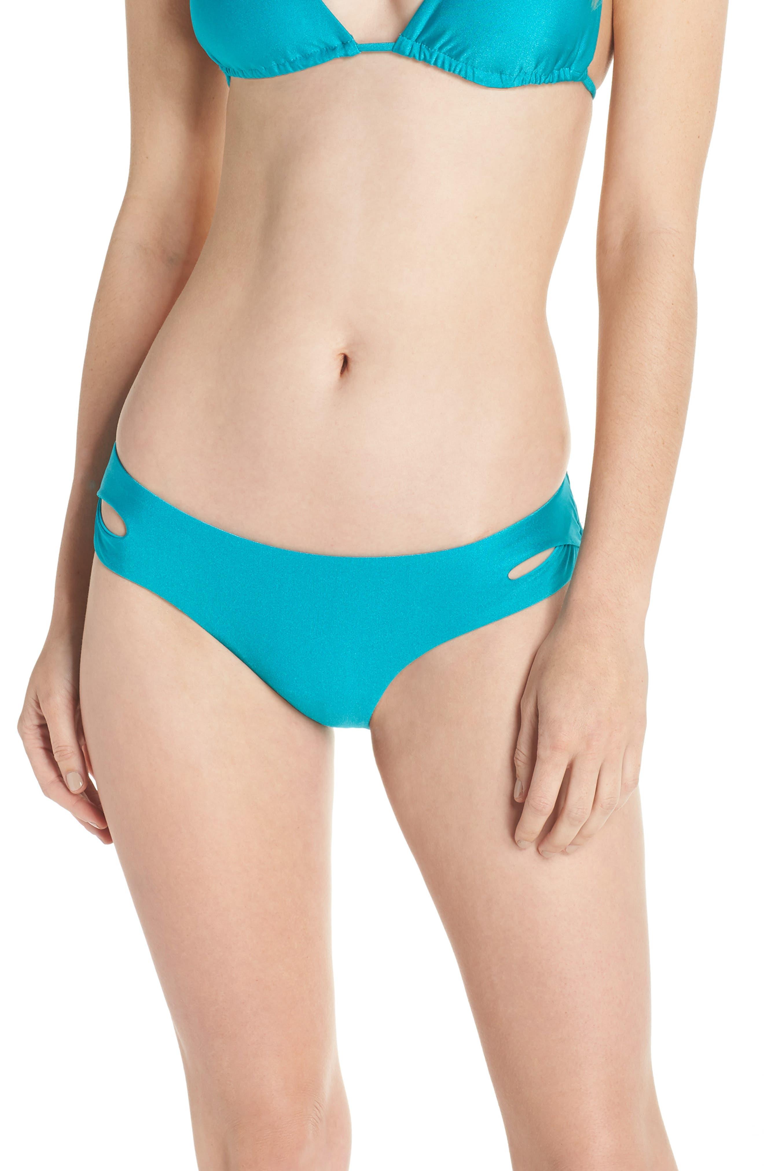 Shimmer Hipster Bikini Bottoms,                             Main thumbnail 1, color,                             Arcadia