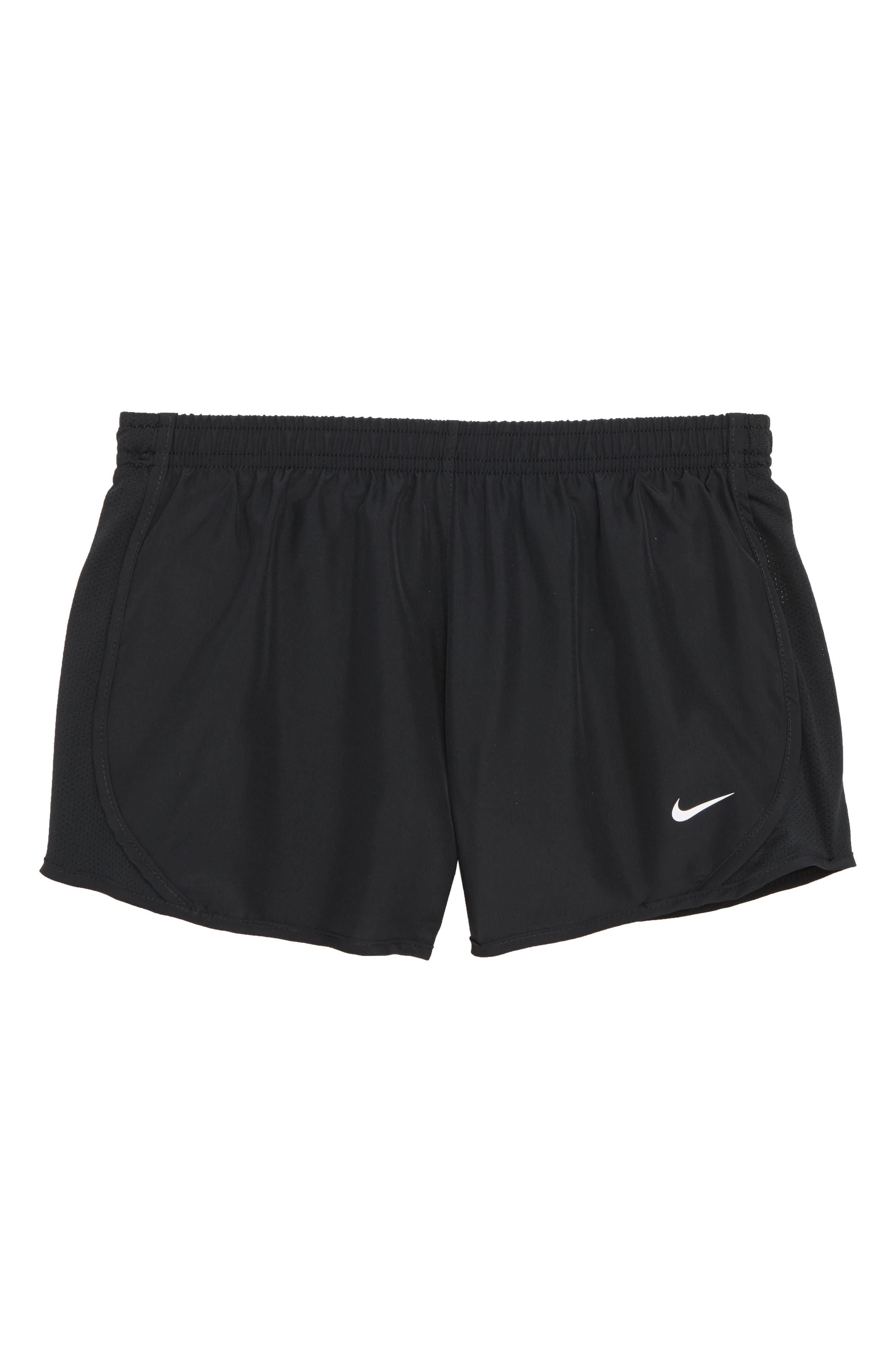 Dry Tempo Running Shorts,                             Main thumbnail 1, color,                             Black/ Black/ Black/ White