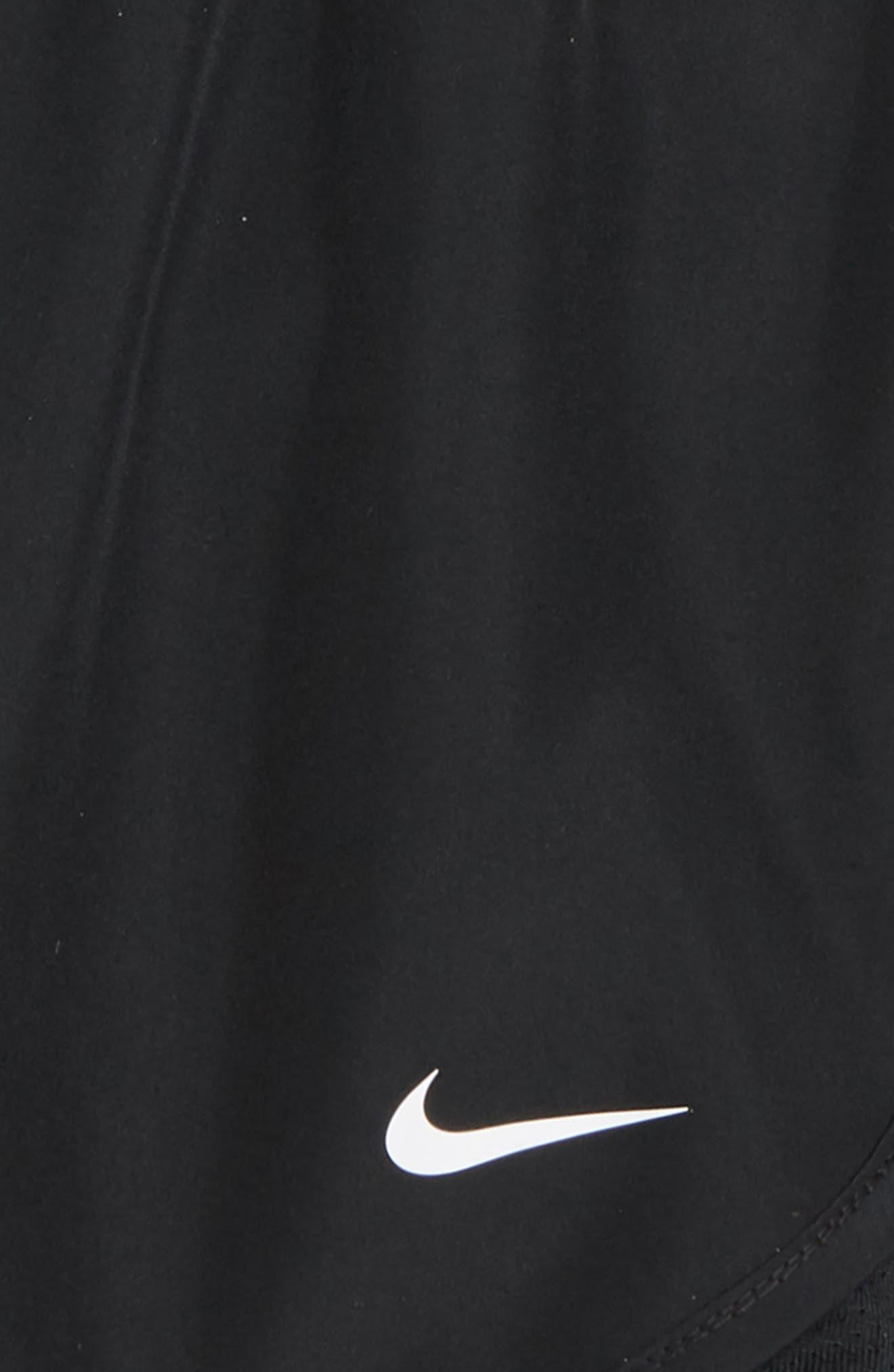 Dry Tempo Running Shorts,                             Alternate thumbnail 2, color,                             Black/ Black/ Black/ White