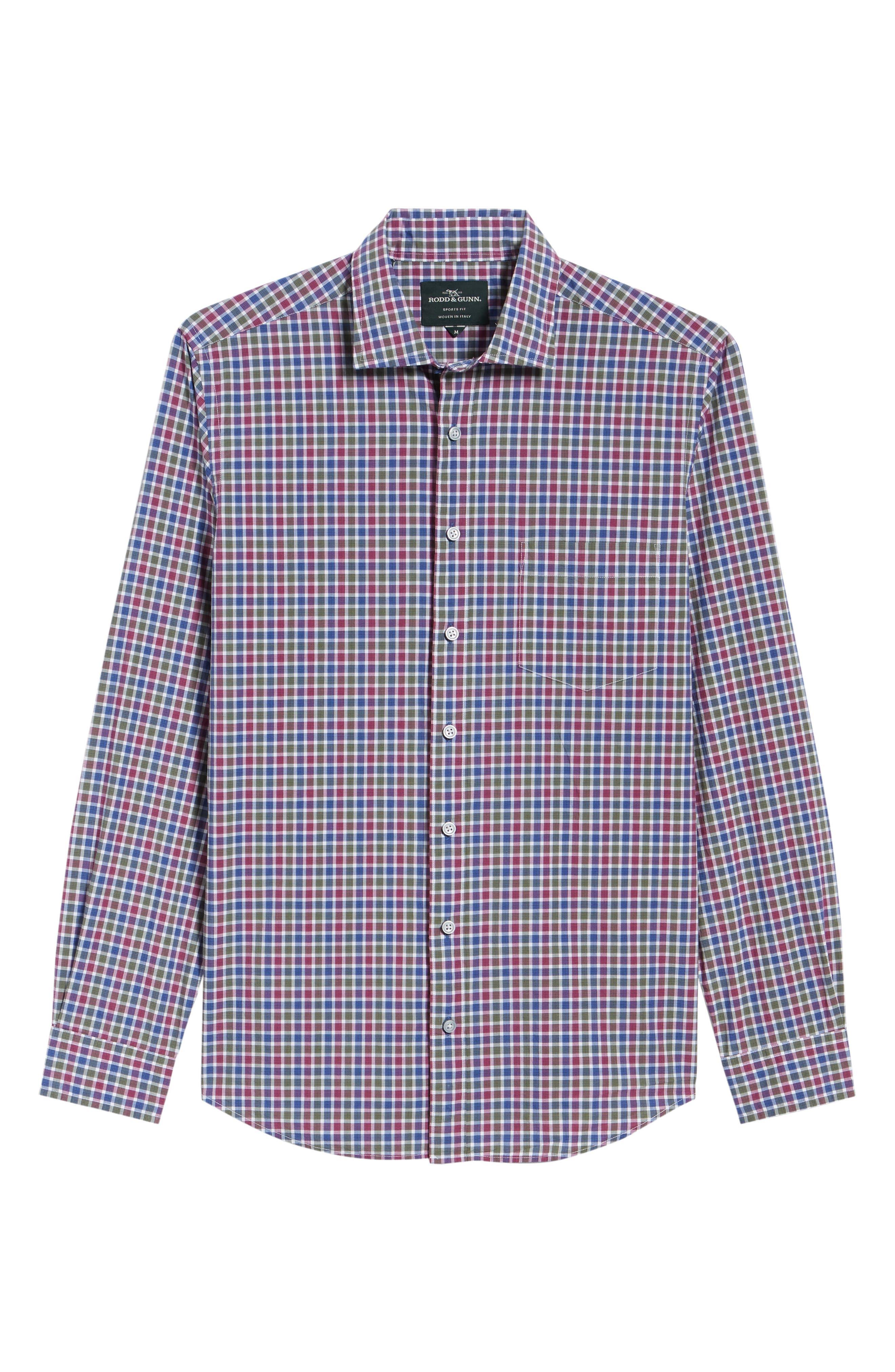 Alternate Image 6  - Rodd & Gunn Macreas Flat Regular Fit Sport Shirt