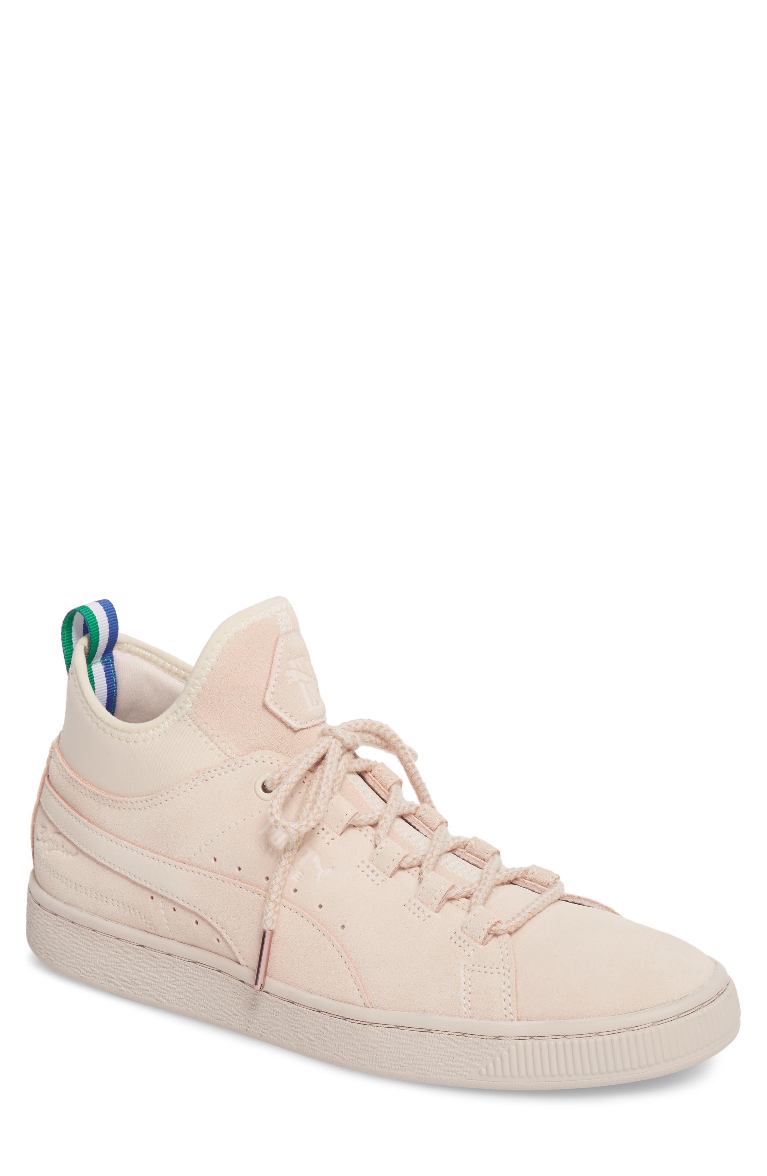 PUMA x Big Sean Mid Suede Sneaker (Men)