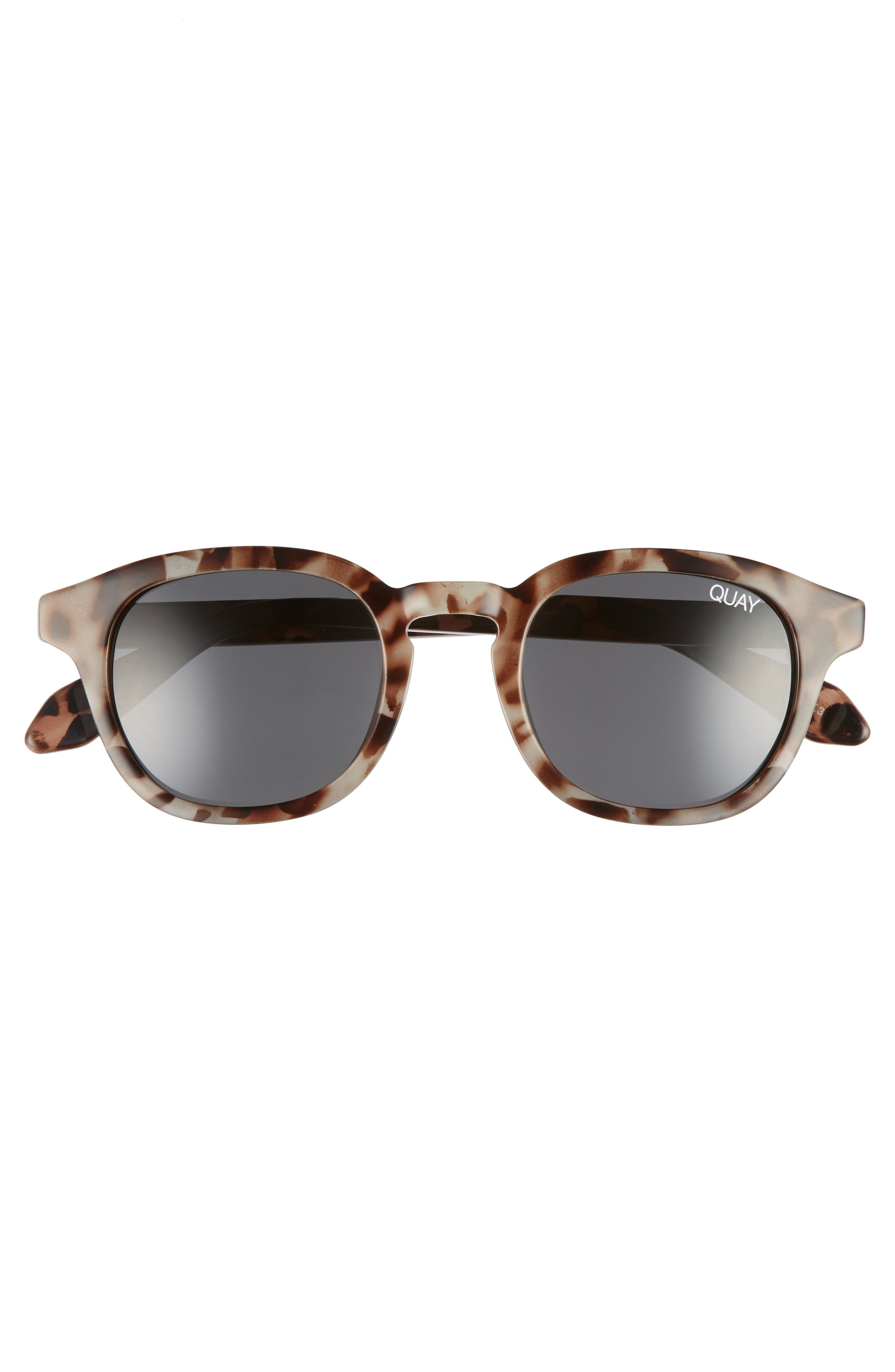 Walk On 47mm Polarized Sunglasses,                             Alternate thumbnail 2, color,                             Tortoise / Smoke Lens