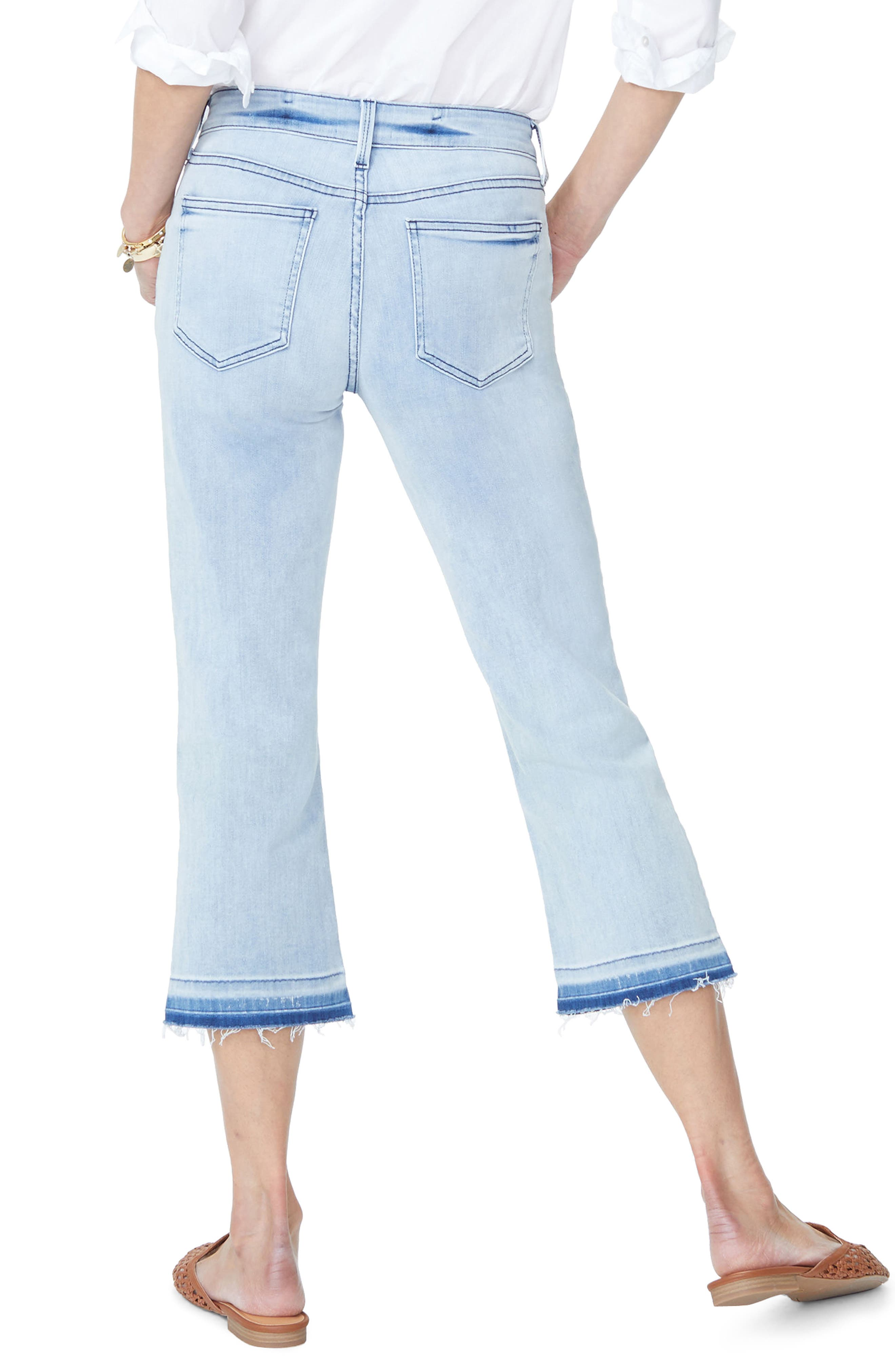 Bootcut Cropped Jeans with Released Hem,                             Alternate thumbnail 2, color,                             Stillwater