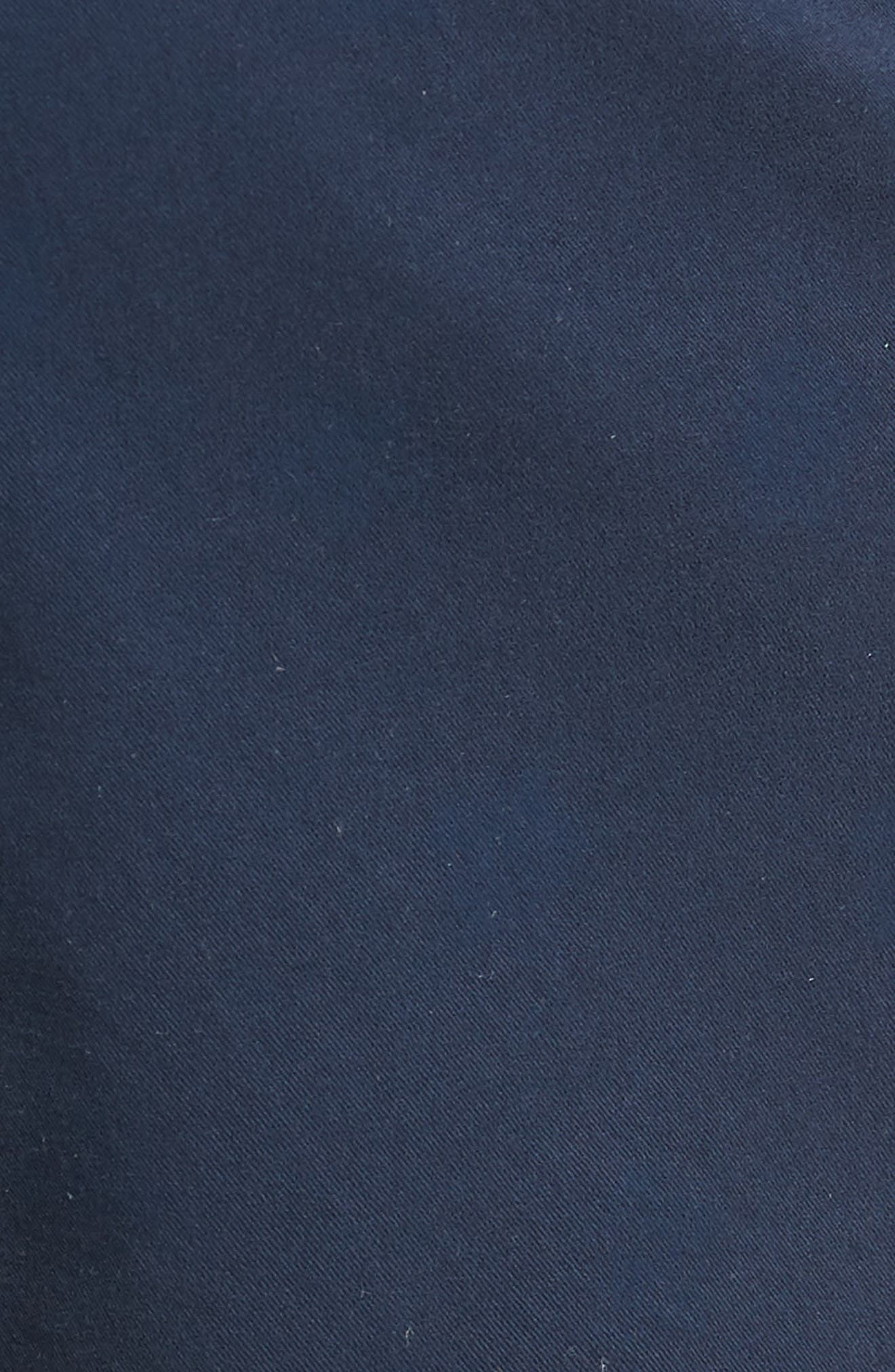 Monaco Floral Stretch Shorts,                             Alternate thumbnail 5, color,                             Indigo