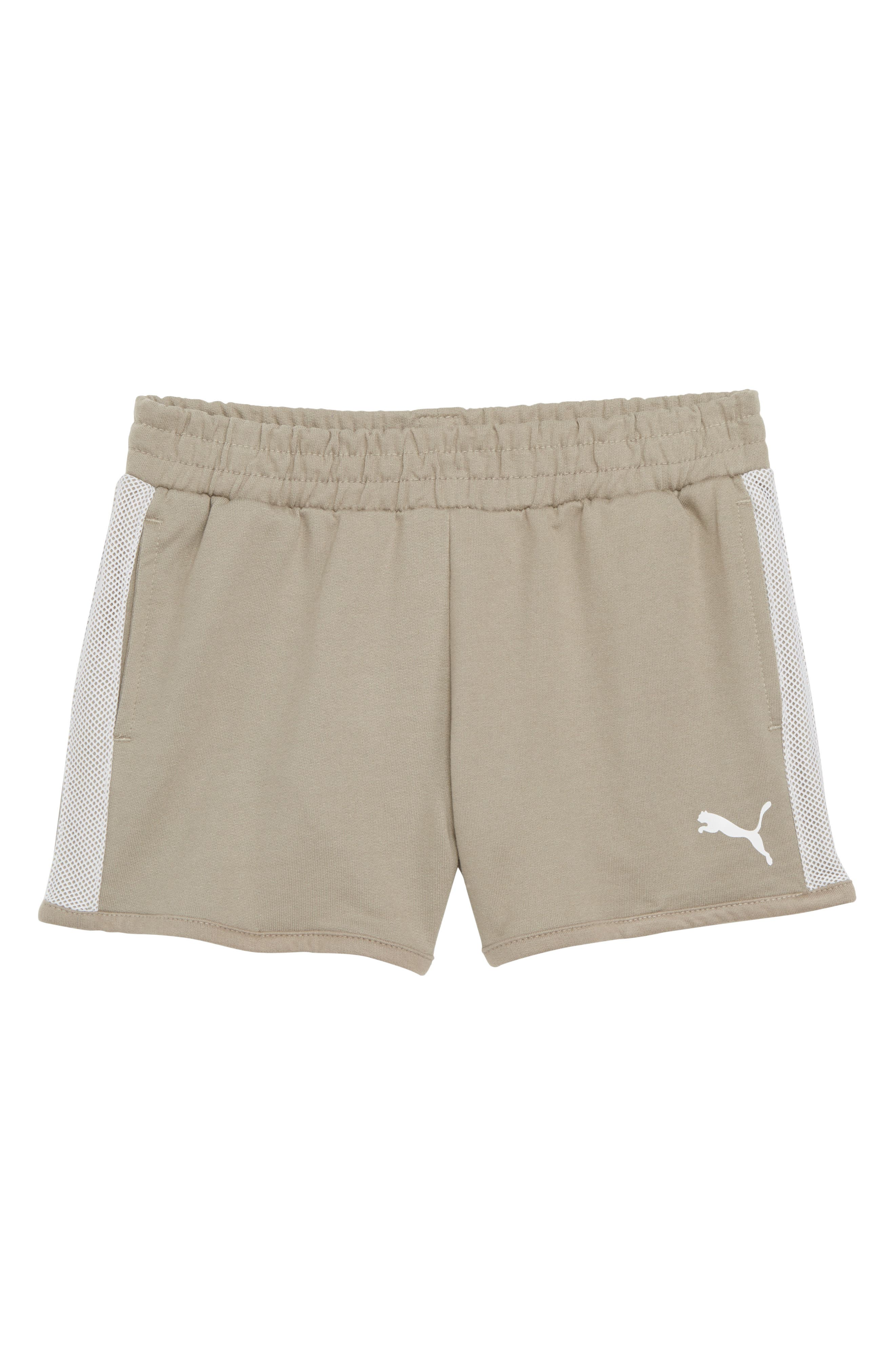 Puma French Terry Shorts (Big Girls)