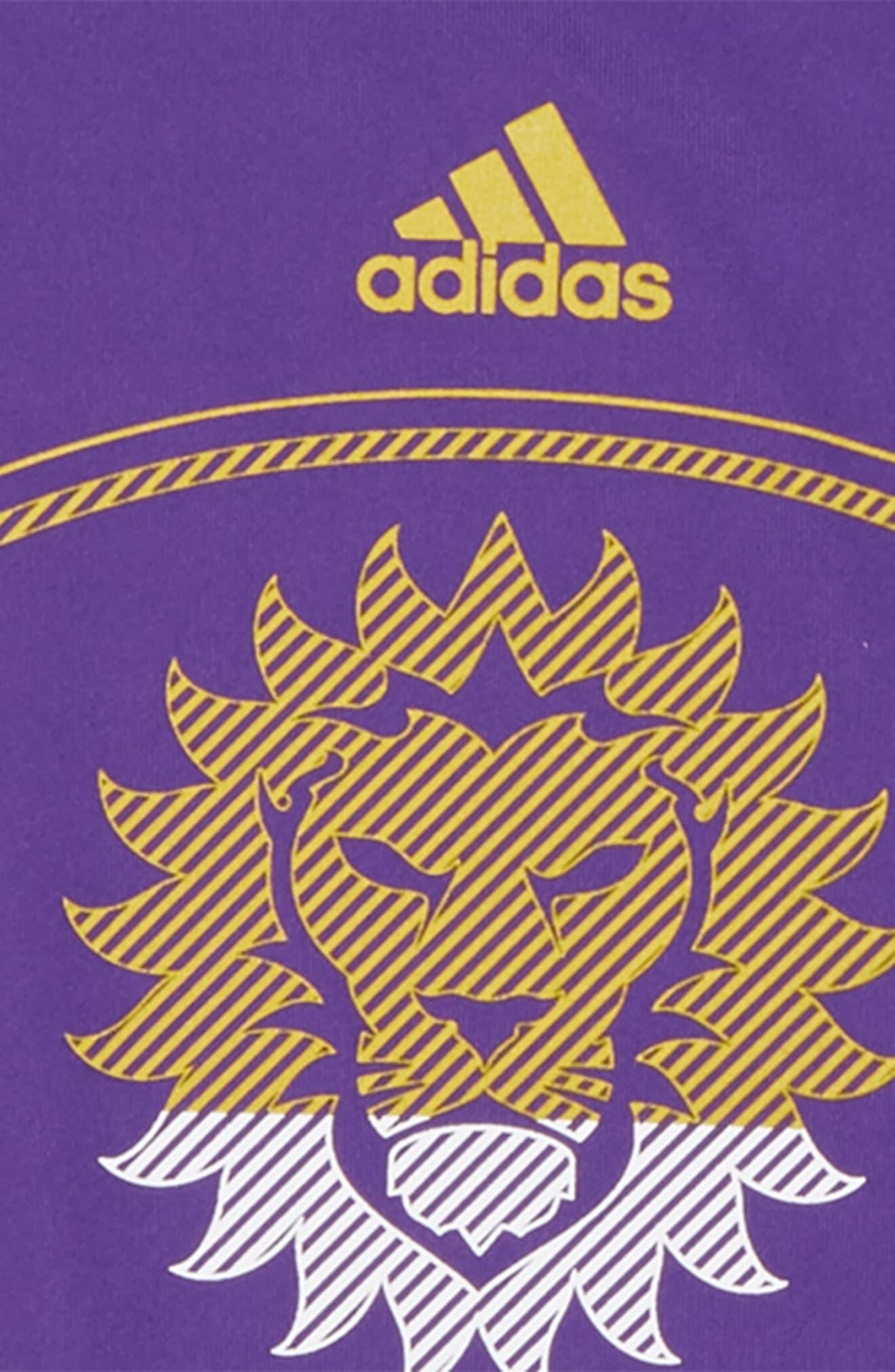 Alternate Image 2  - adidas MLS Orlando City SC Climalite® T-Shirt (Big Boys)