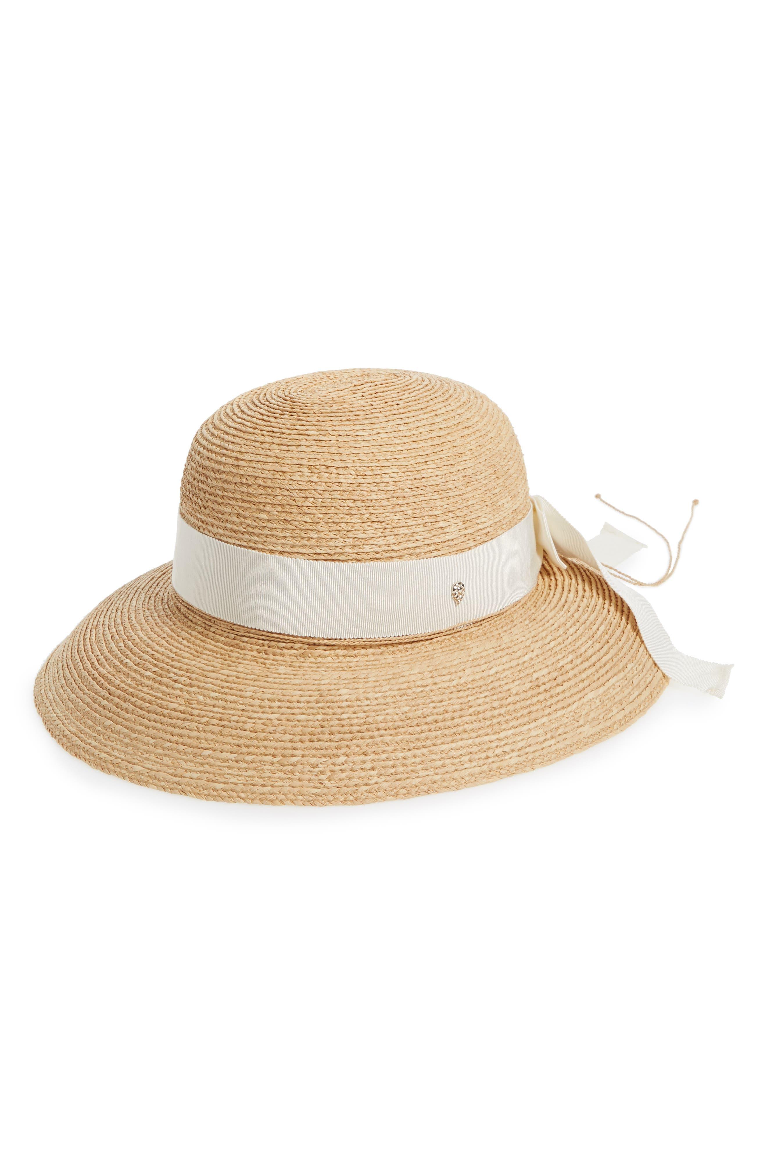 Newport Raffia Straw Hat by Helen Kaminski