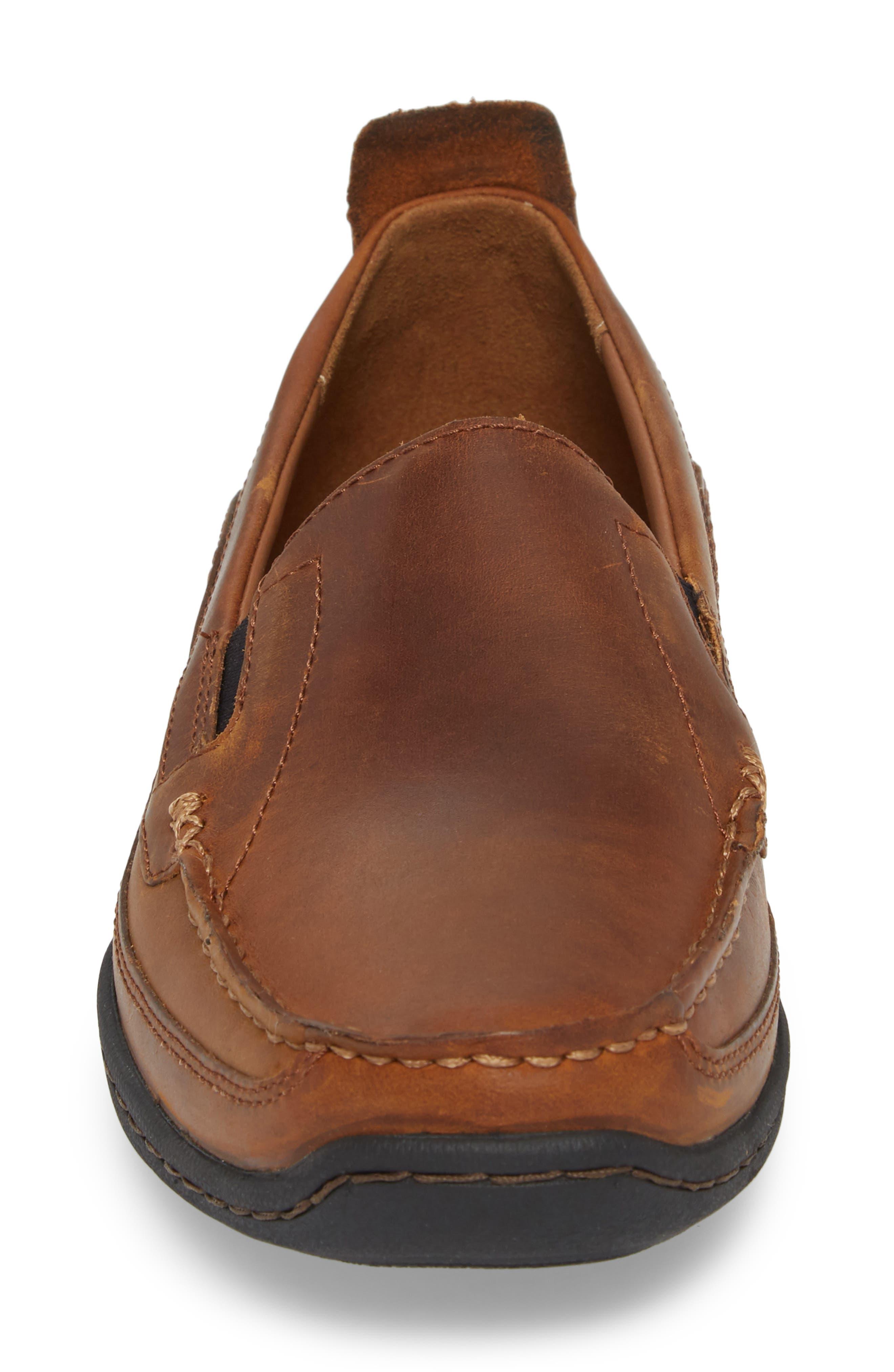 Sandspoint Venetian Loafer,                             Alternate thumbnail 4, color,                             Tan Old Harness