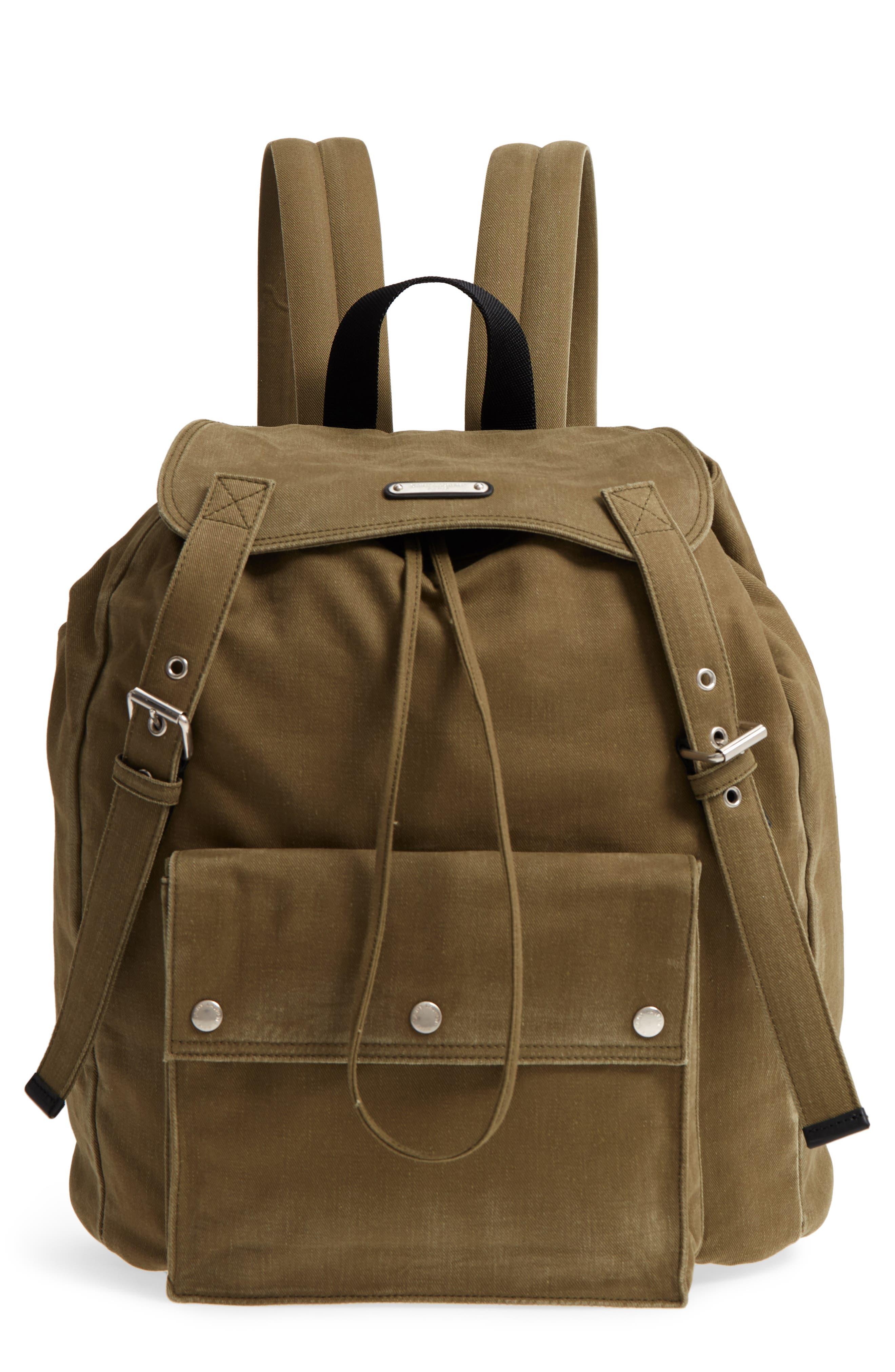 Saint Laurent Noe Flap Backpack