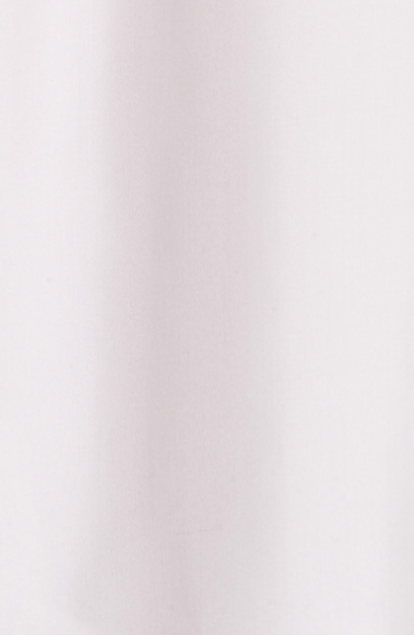 Tie Neck Silk Dress,                             Alternate thumbnail 5, color,                             Lilac