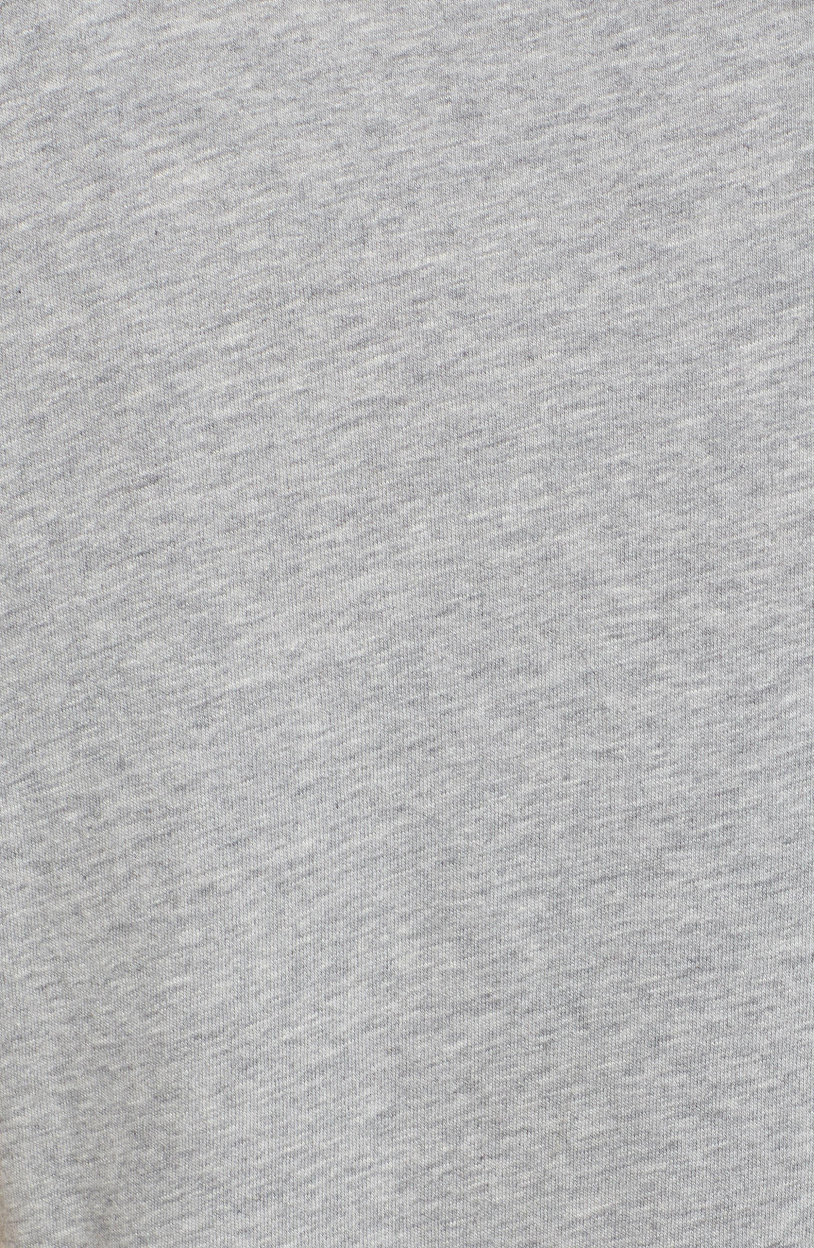Sportswear Kiss My Airs Tee,                             Alternate thumbnail 5, color,                             Dark Grey Heather/ Wolf Grey