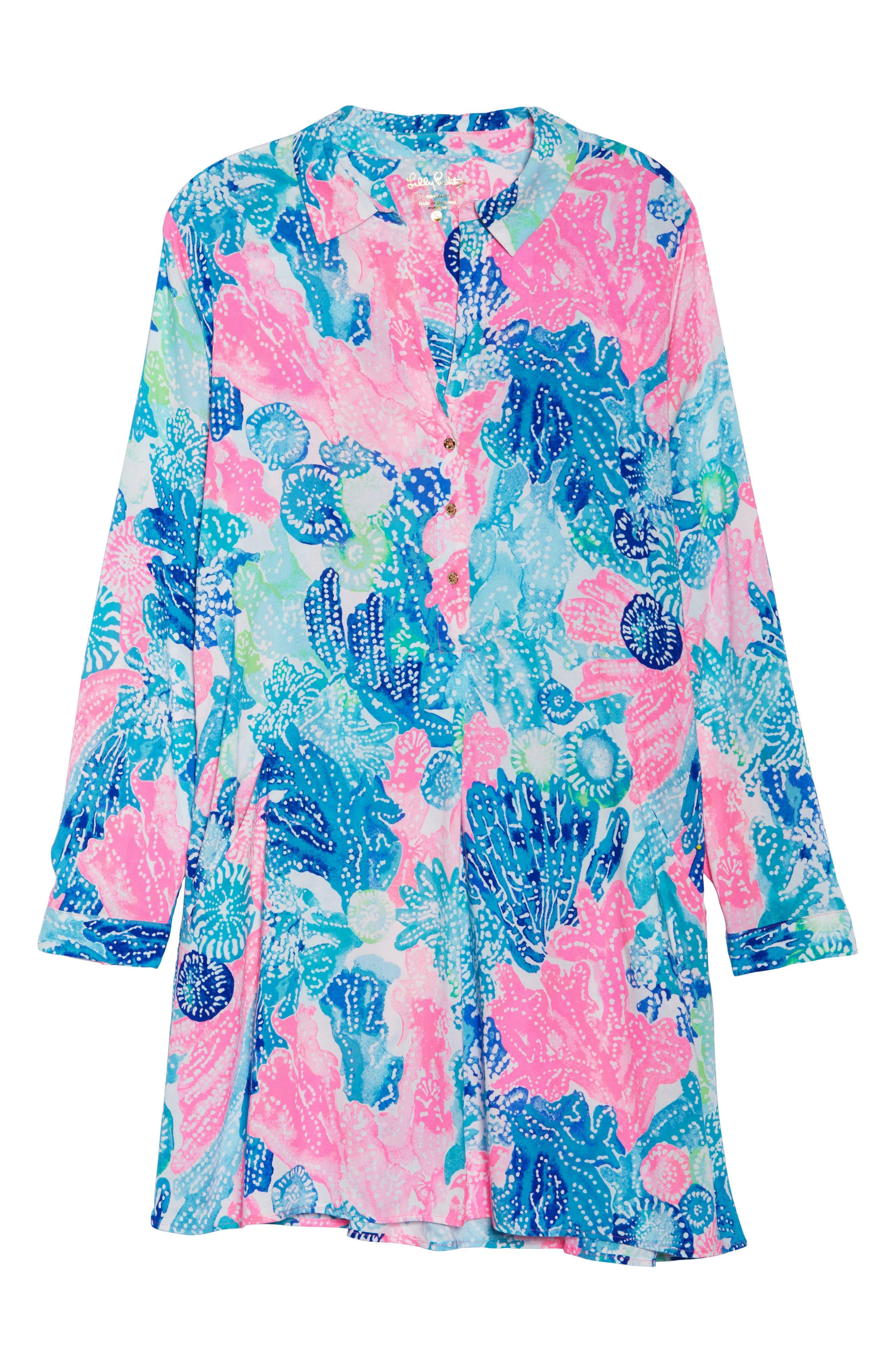 Lillith Shirtdress,                             Alternate thumbnail 6, color,                             Multi Boho Batik